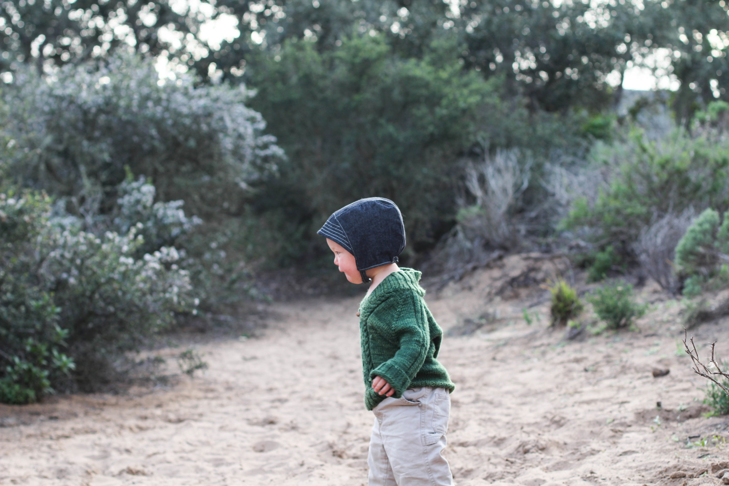 Baby Sun Bonnets for Adventure Boys via bluecorduroy.com