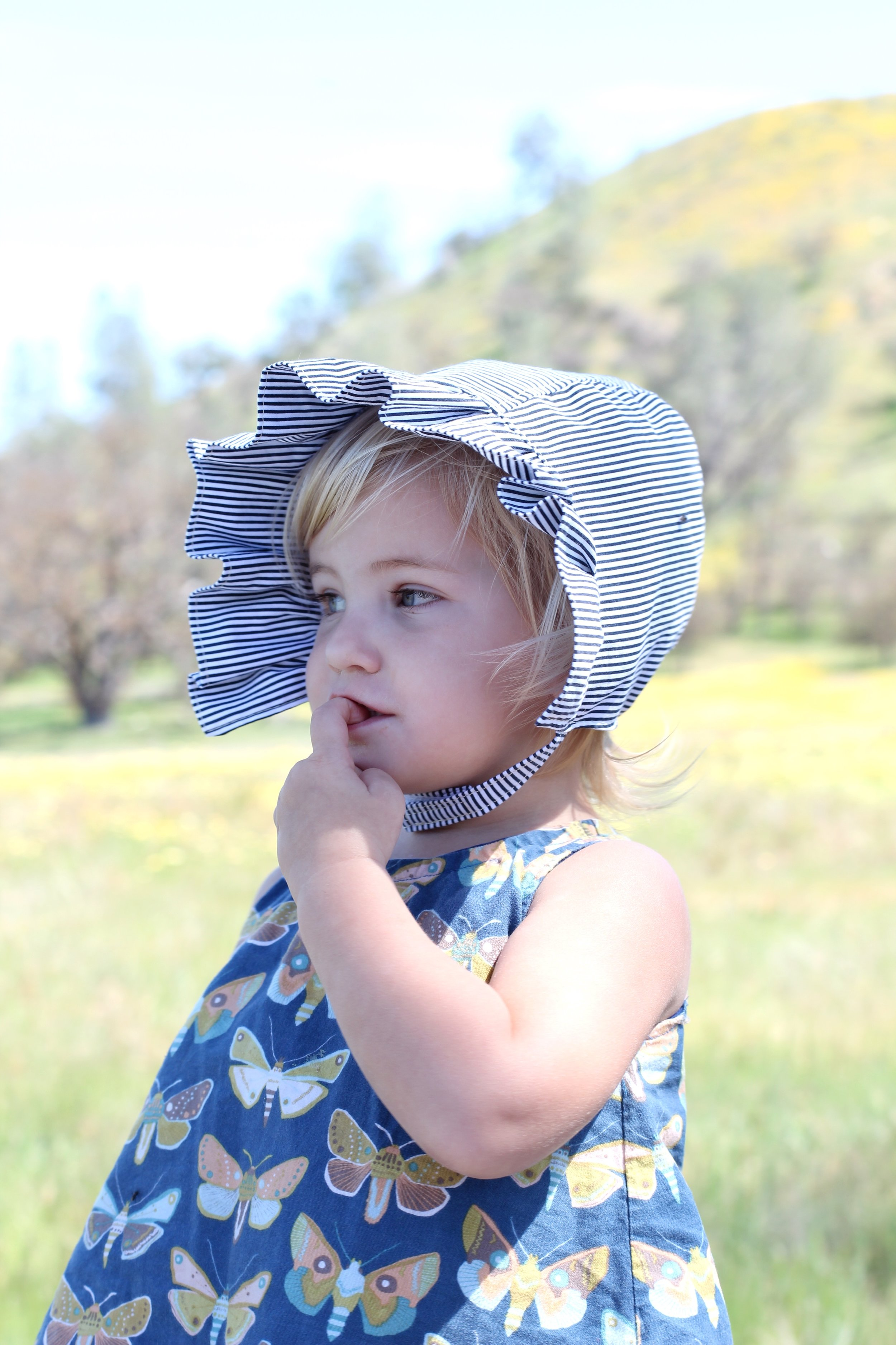 Boho Baby Sun Bonnets by Blue Corduroy