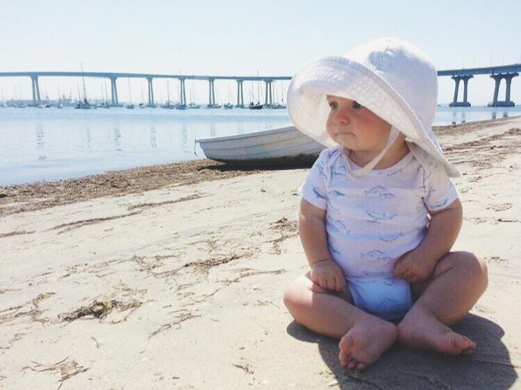 Baby Safe Sunscreens and Handmade Sun Hats by bluecorduroy.com