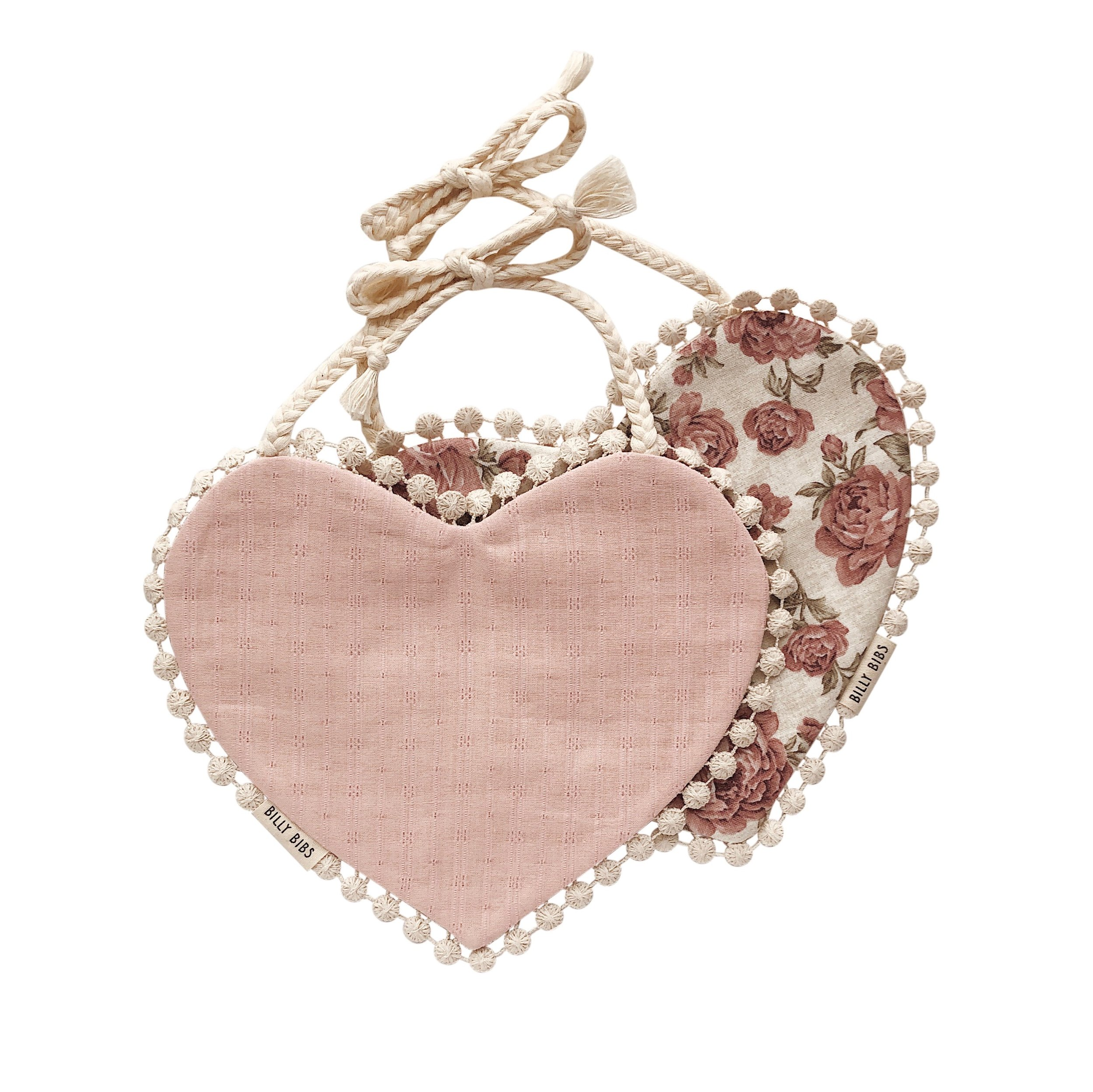 Heart Bibs by  Billy Bibs , what a great way to party in style.