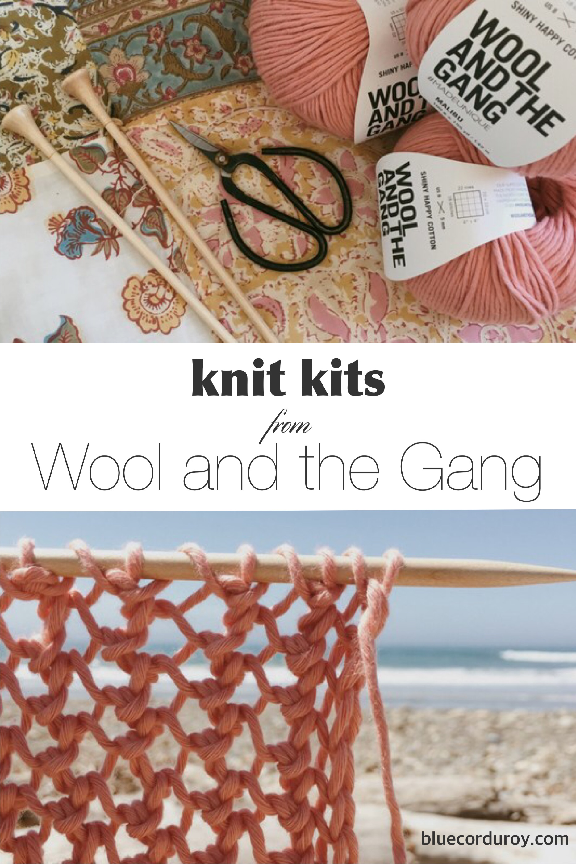 Knit Kits from Wool and the Gang. These have lots of enjoyment with little frustration.