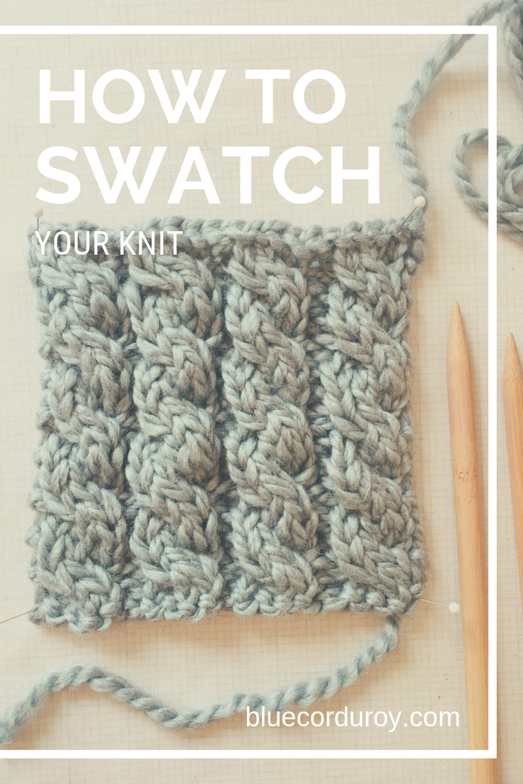 Swatching your knit has so many benefits and will soon become your best friend!