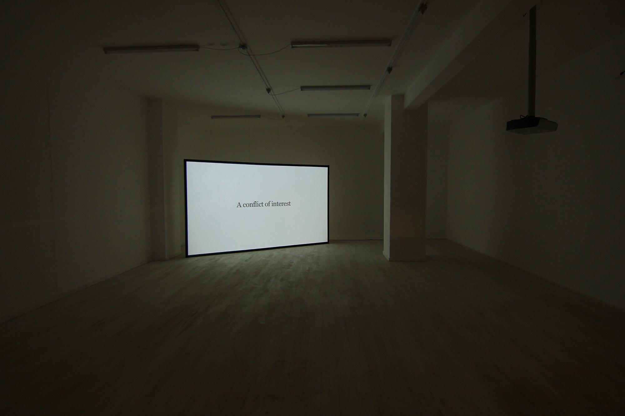 Installation view: Officin, 2014