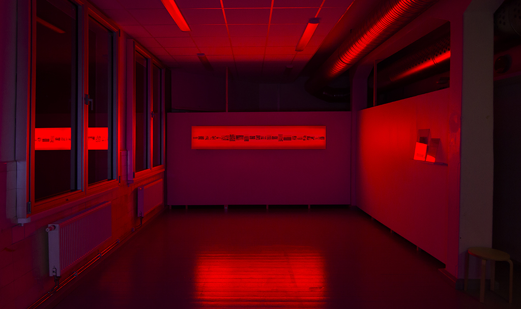 Installation view: Inter Arts Center, Sweden