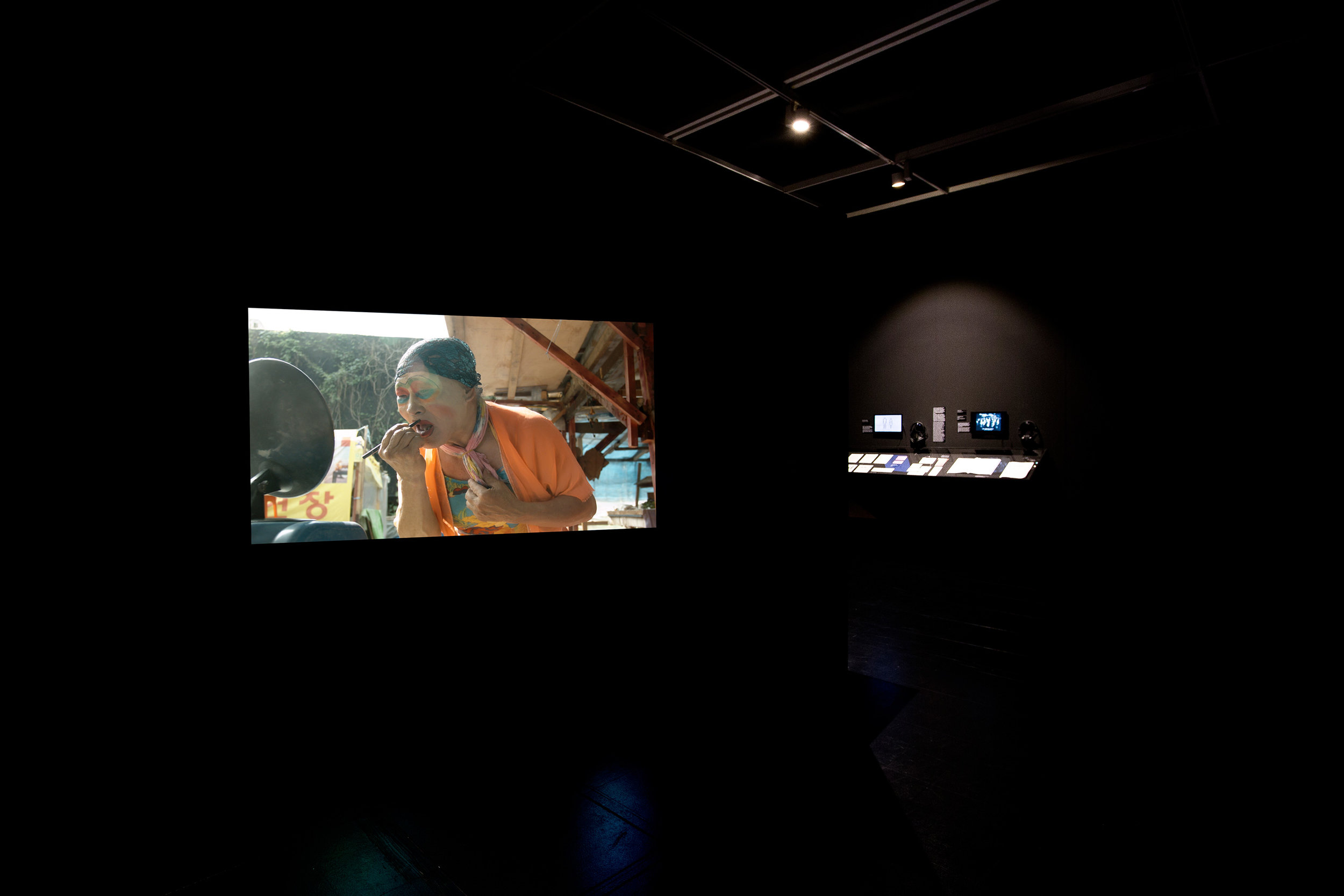 Installation view: Buk Seoul Museum of Art,  Asian Diva: The Muse and the Monster, Korea. Photo credit:Byunghun Min/Halo Studio.