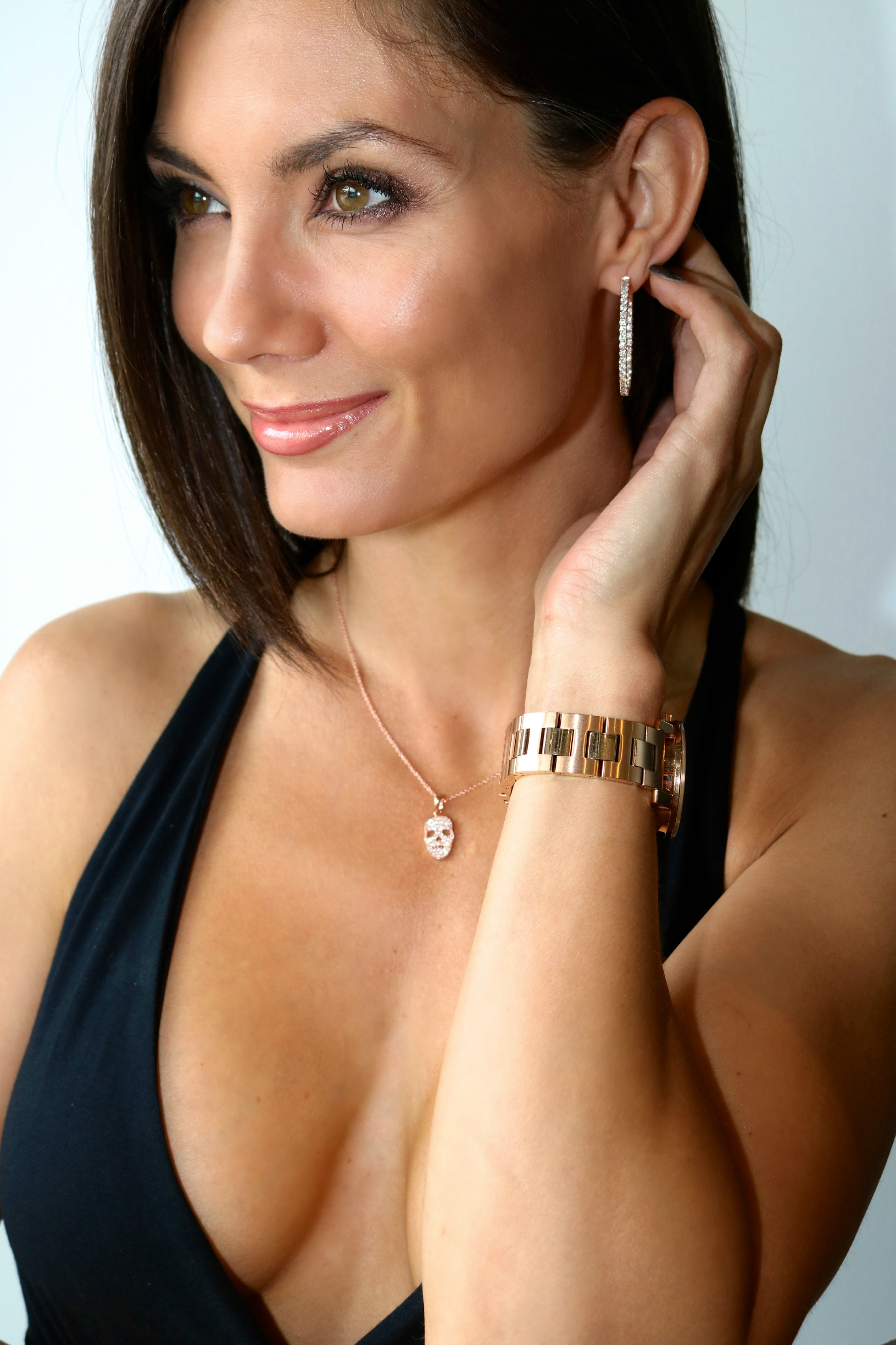 Rose Gold jewelry available at LIBERTÉ