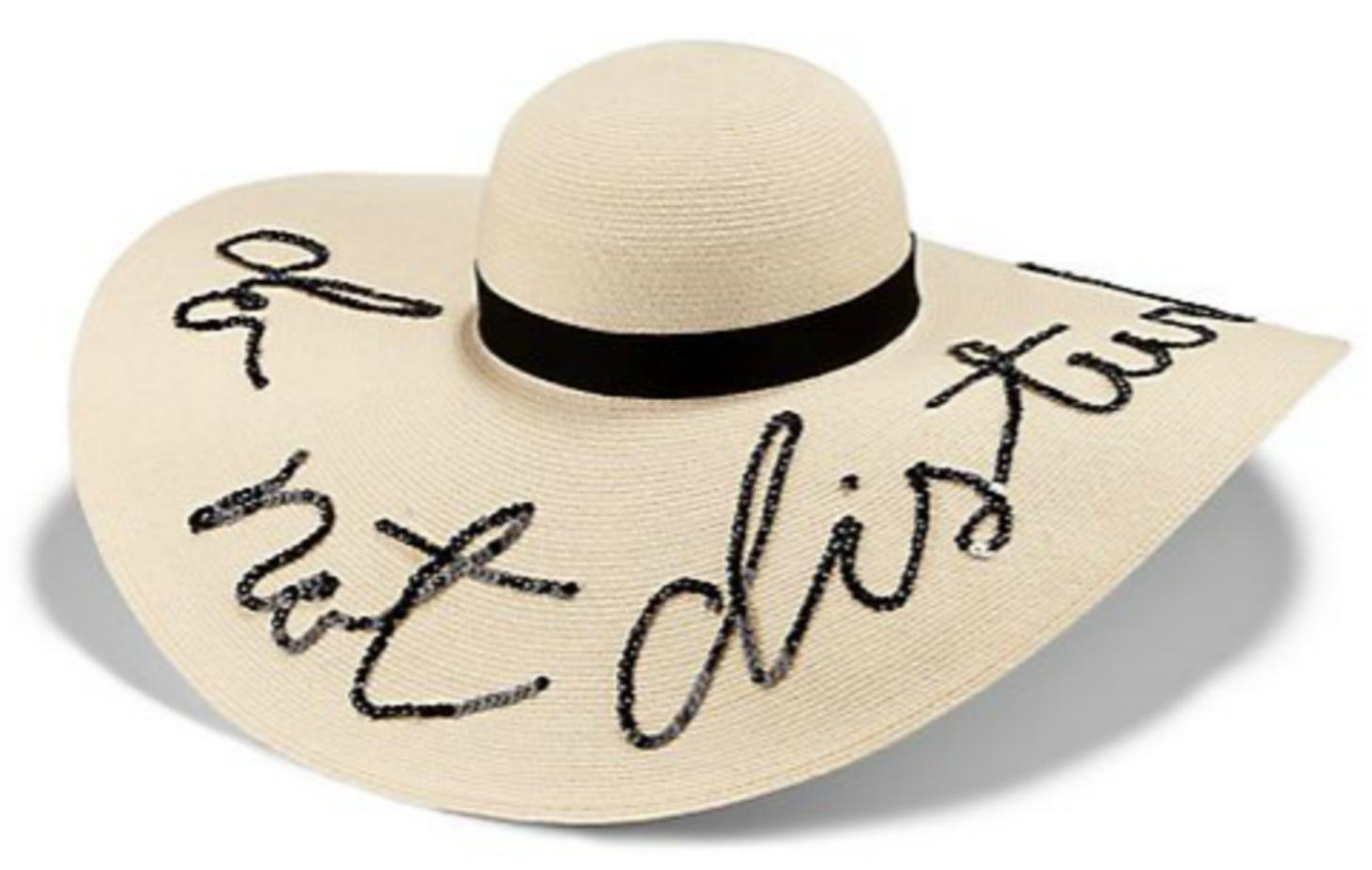 "Eugenia Kim ""Do Not Disturb"" Sun Hat"