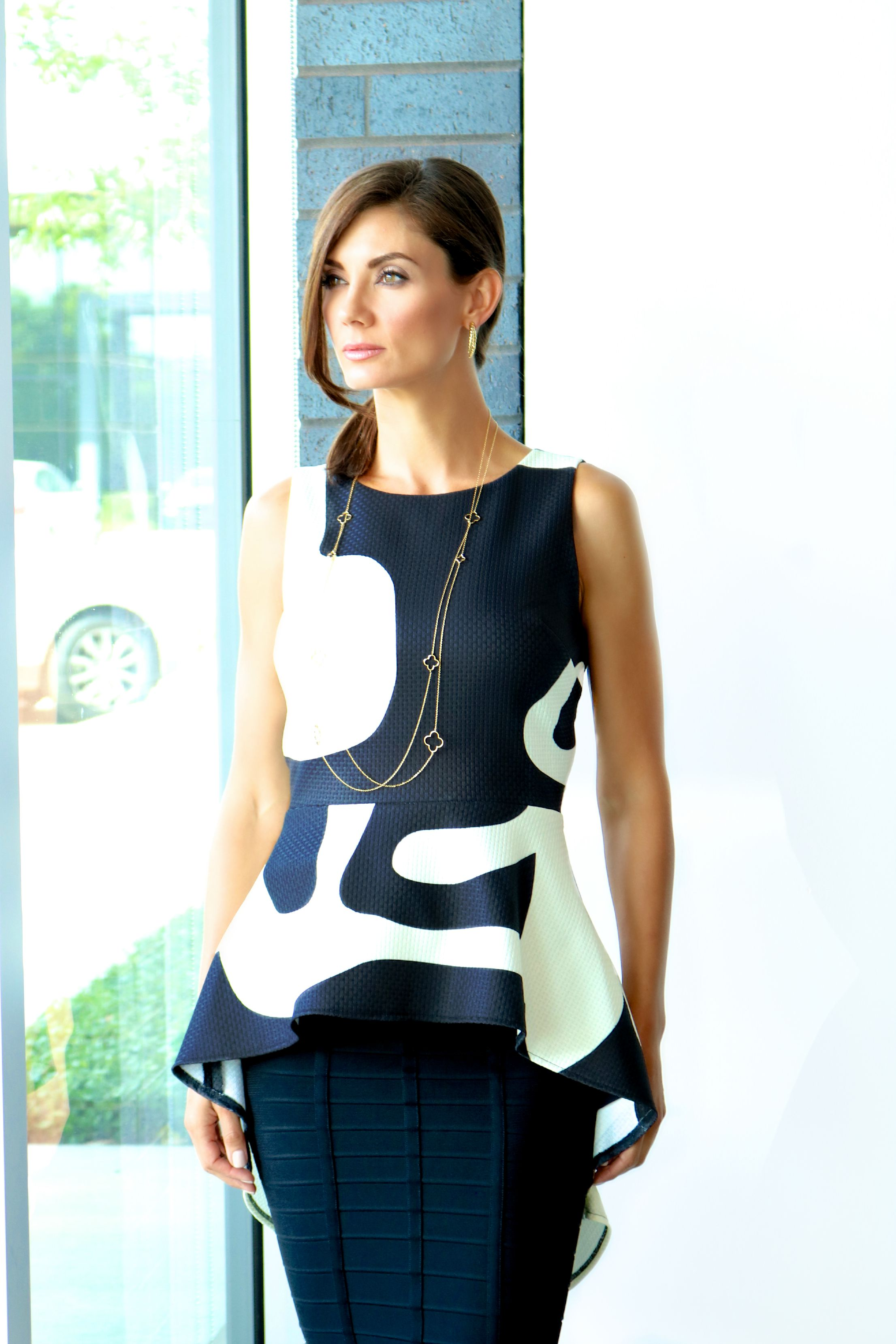 The James Top from Troubadour  in Encounter is Available In Store and  Online . Herve Sia Skirt Available In Store Only.