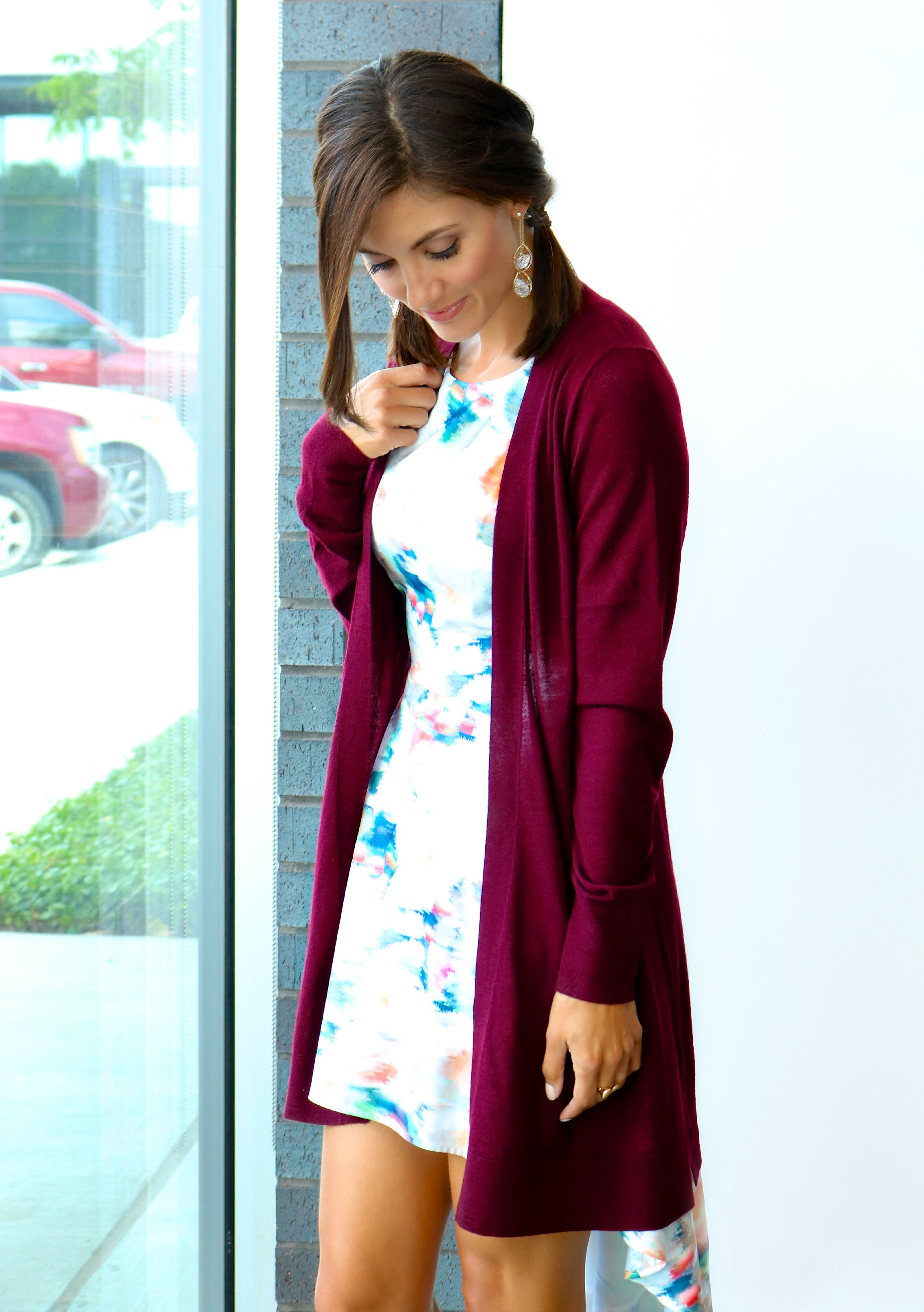 Christopher Fischer Open Front Cardigan & Troubadour James Dress Available In Store and Online