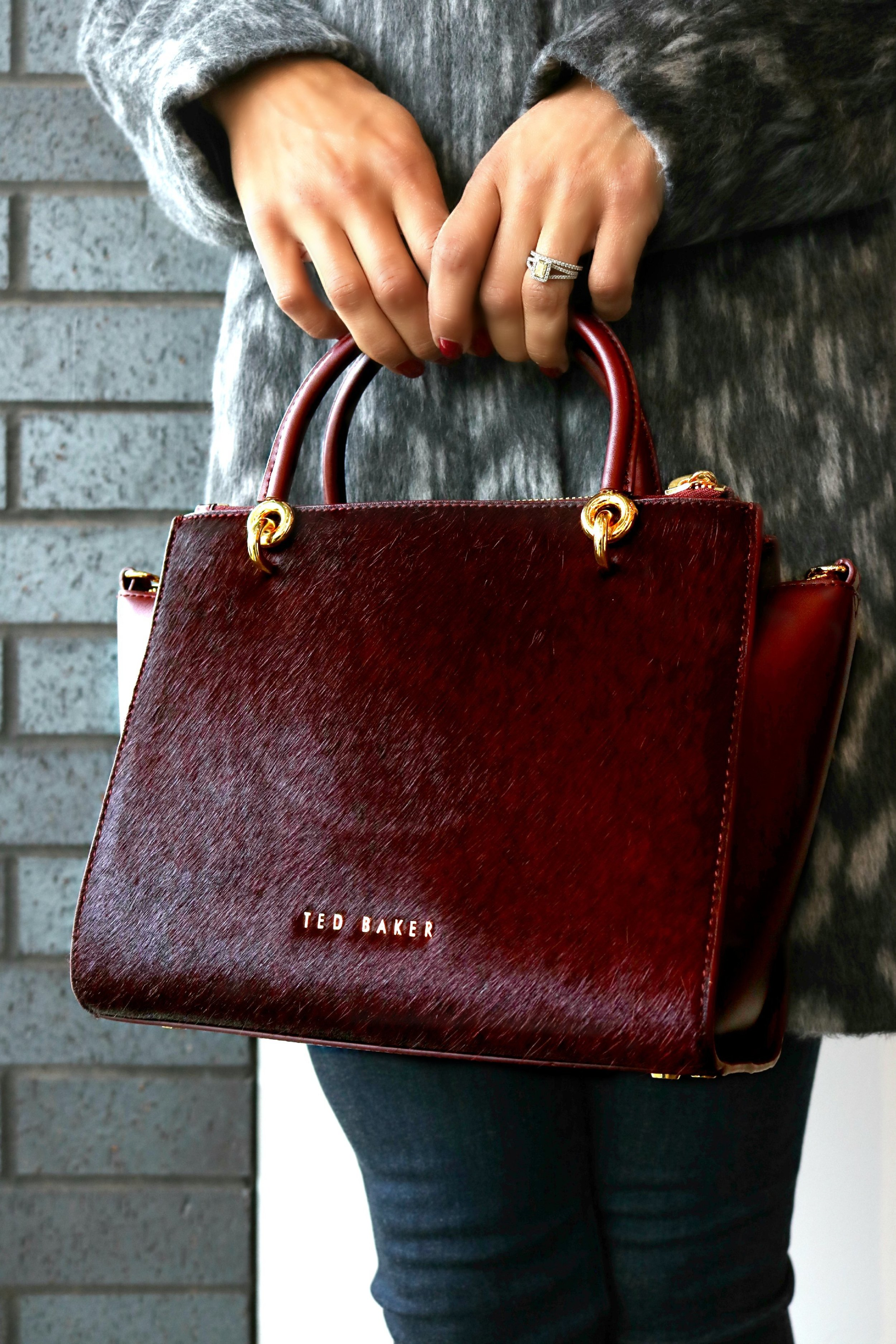 Ted Baker Exotic Handbag Available In Store Only