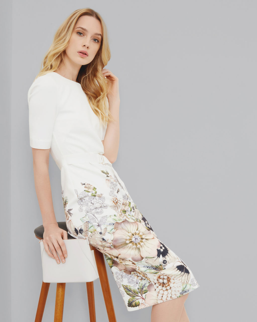 Ted Baker // LAYLI Gem Gardens Bodycon Dress // $315