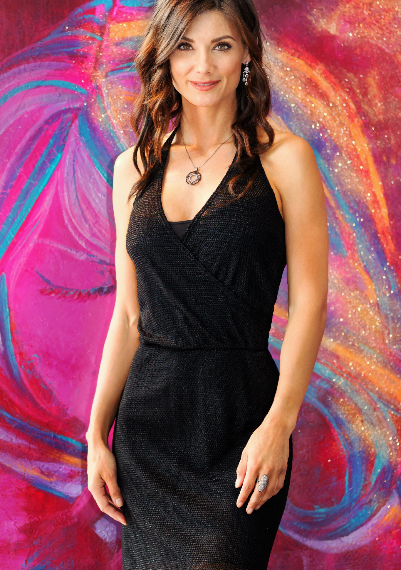 Halter Mini Dress in Black from Only Hearts - Available in store