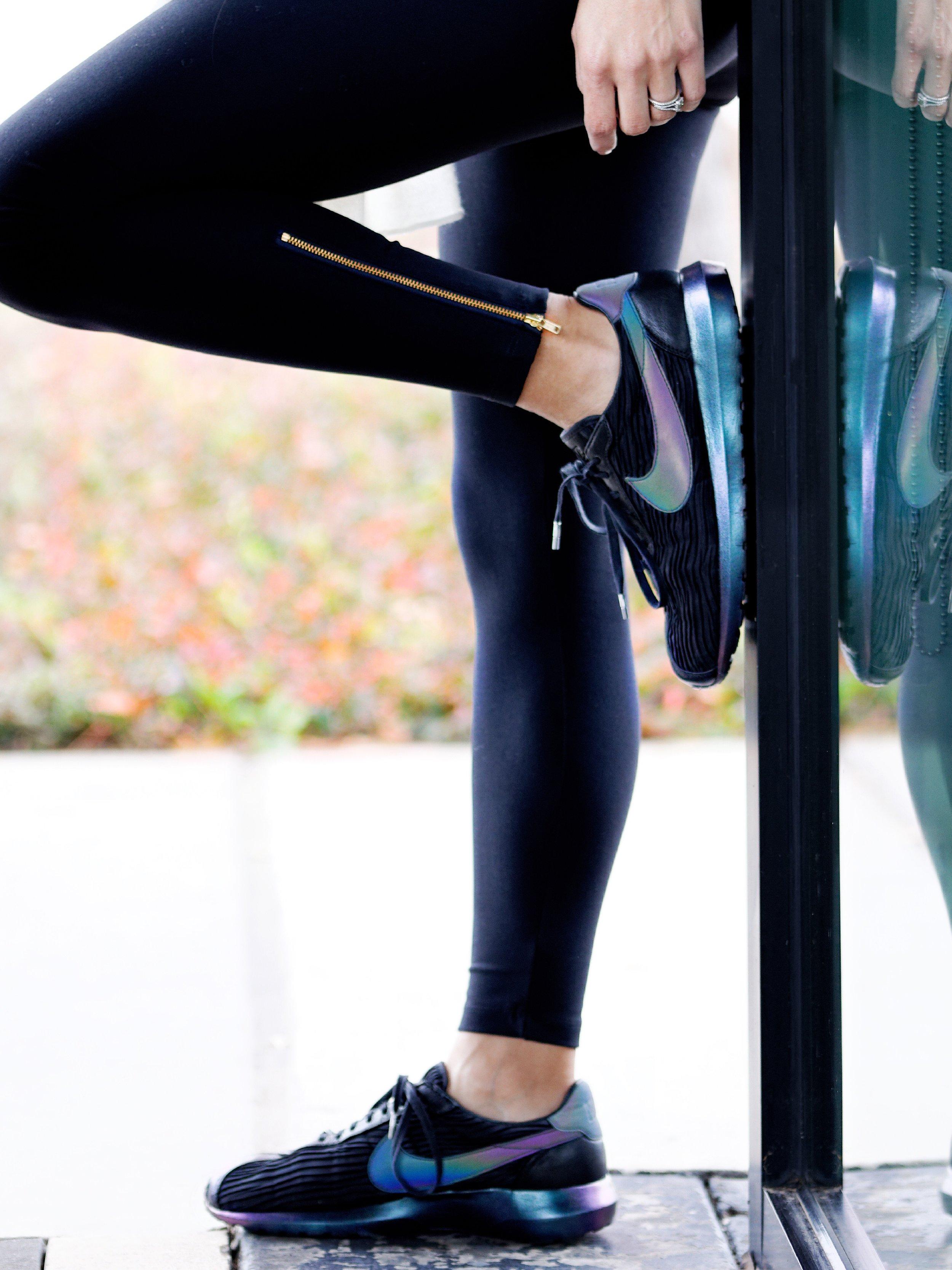 Control Leggings w/ Zipper