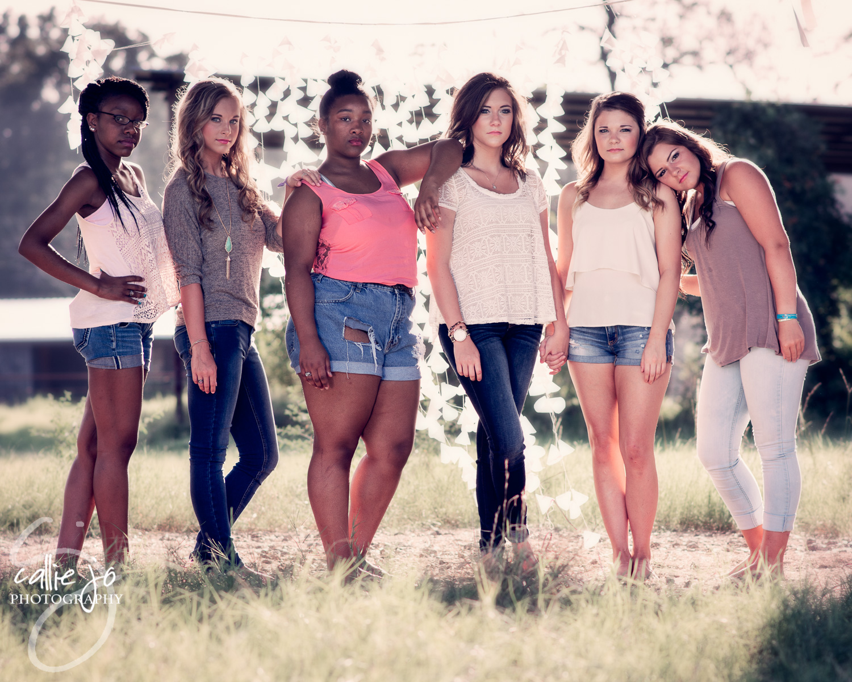 Class of 2016 Senior Reps ~ DeLishia Shoals, Bailee Audirsch, Fantasia Lewis, Hannah White, Presley Shirey & Jordan Duran