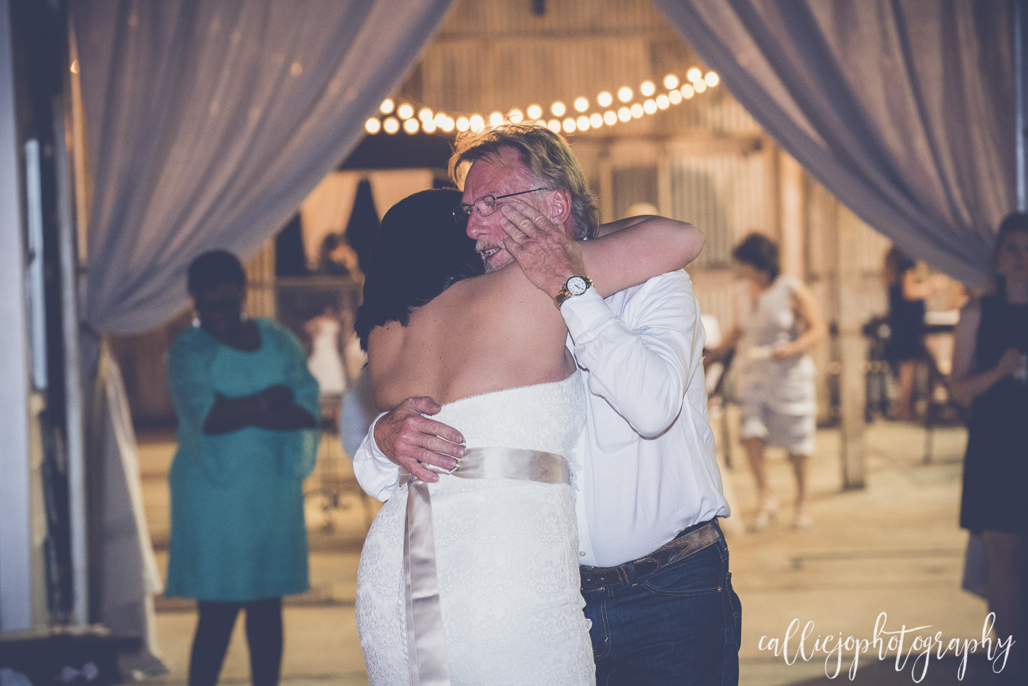 Being a daddy's girl, I had to share this shot from the Father/Daughter dance... Agh! Brings tears to my eyes all over again!
