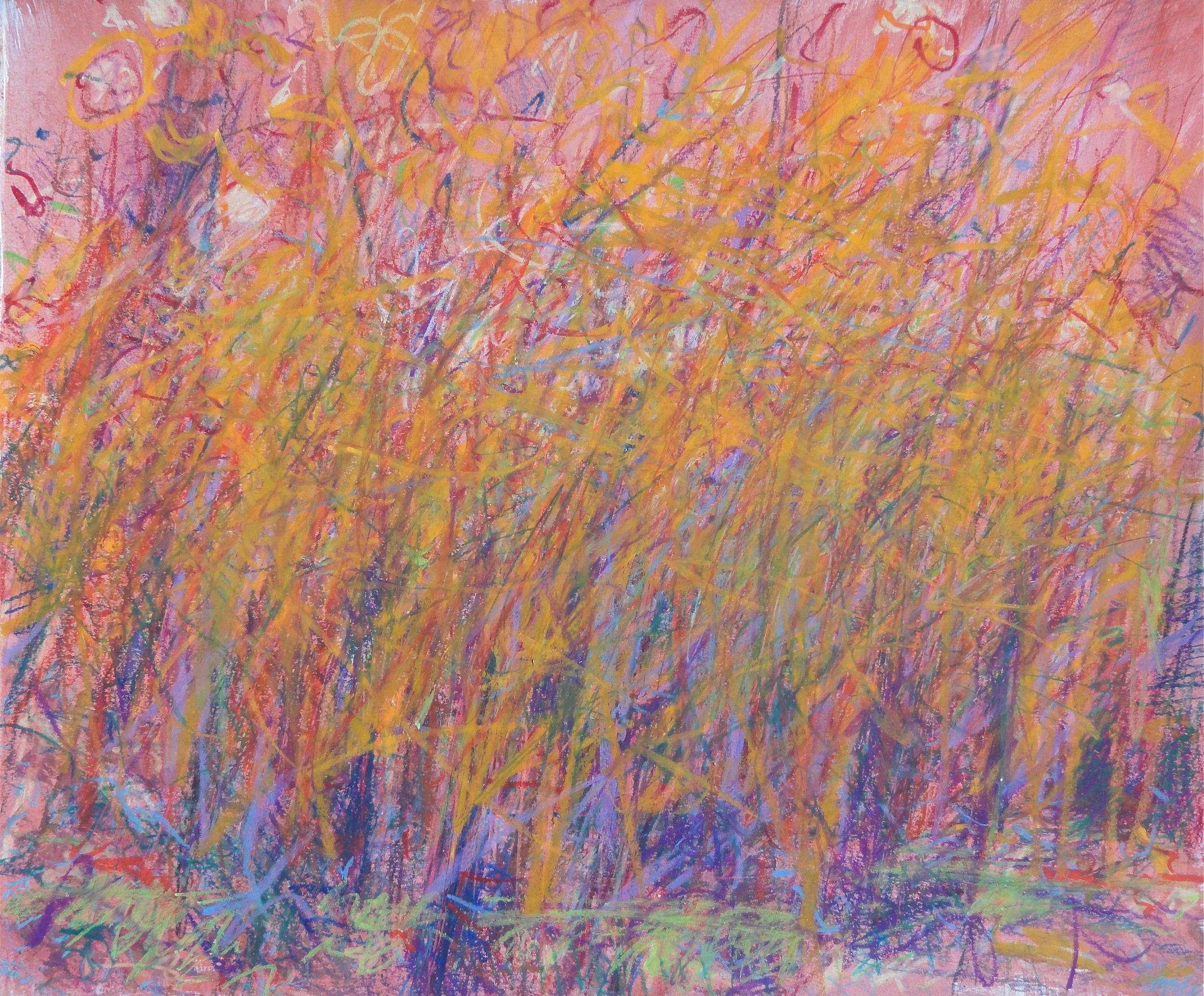 14x17' gouache/oil pastel 2009
