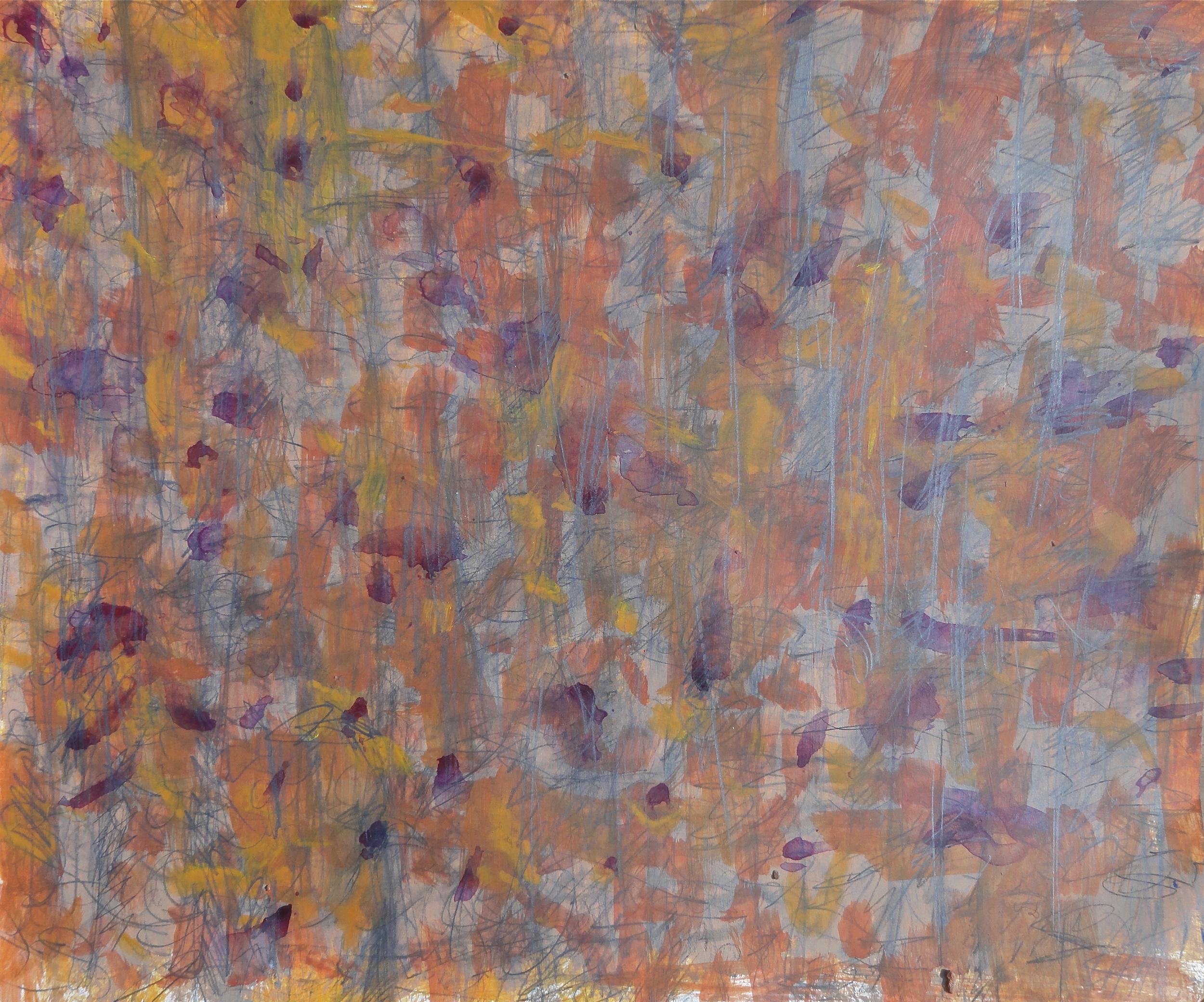"""14x17"""" acyrlic/pencil 2011"""