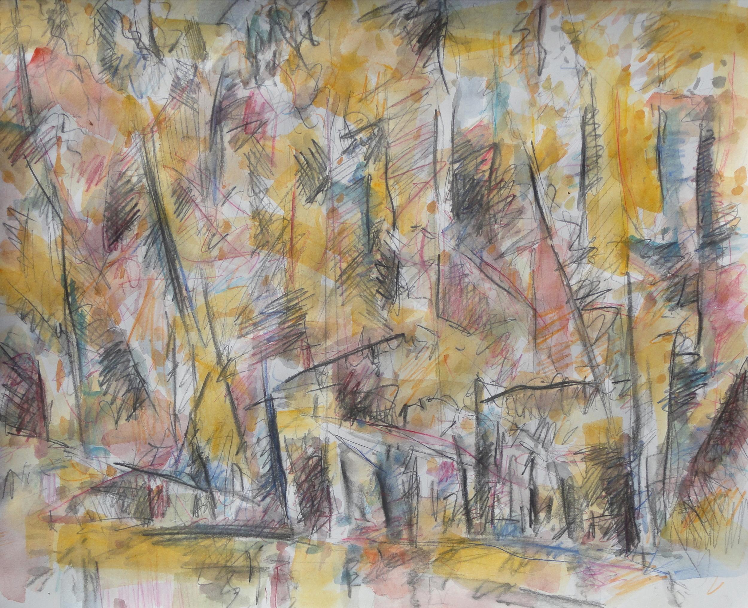 """14x17"""" pencil/watercolor 2012"""