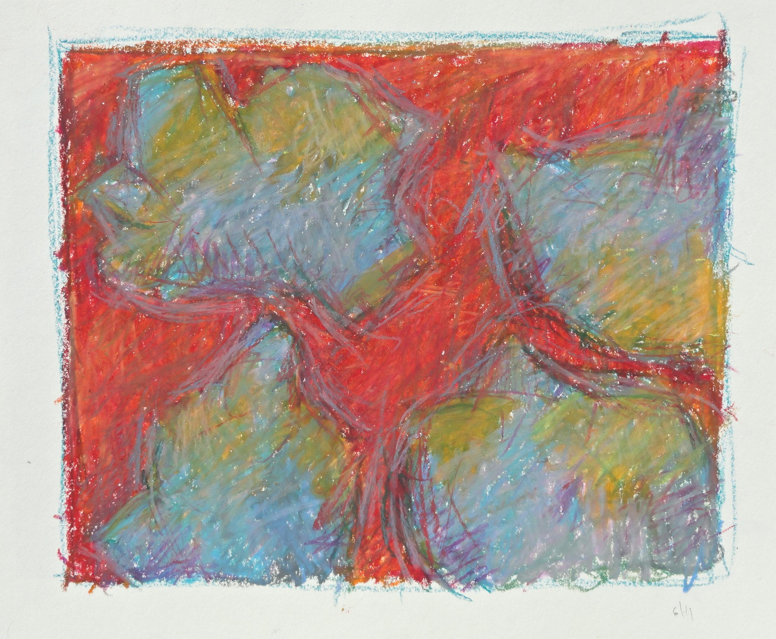 "7 x 8 1/2 "" oil pastel 2011"