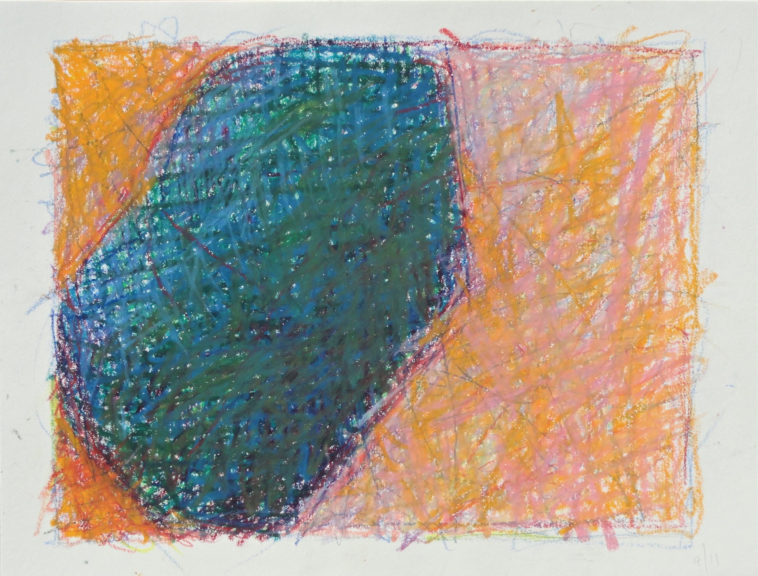 "7 1/2 x 10"" oil pastel 2011"