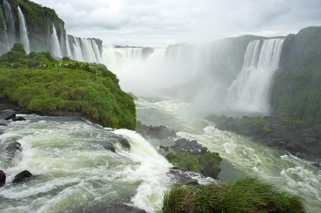 Devils throat, Iguazu Falls #1, Brazil, 15 Apr 2012