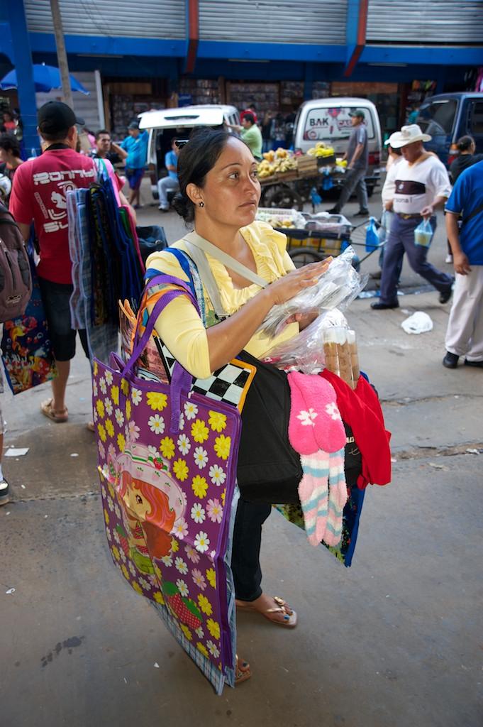 Quidad del Este street scene #2, Paraguay, 17 Apr 2012