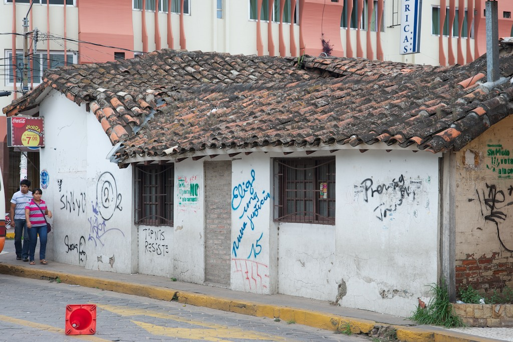Roof opposite hotel, Santa Cruz, Bolivia, 23 Apr 2012