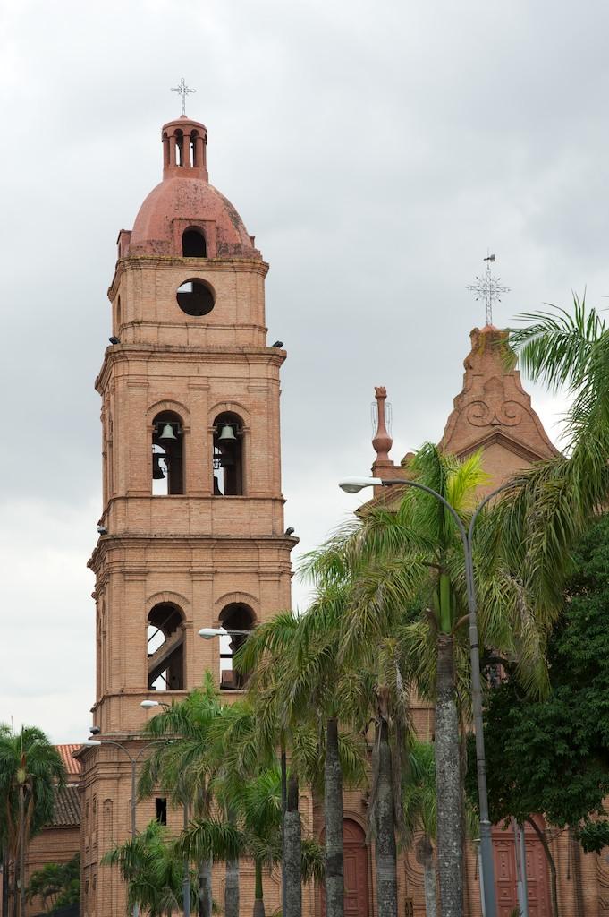 Cathedral bell tower, Santa Cruz, Bolivia, 23 Apr 2012