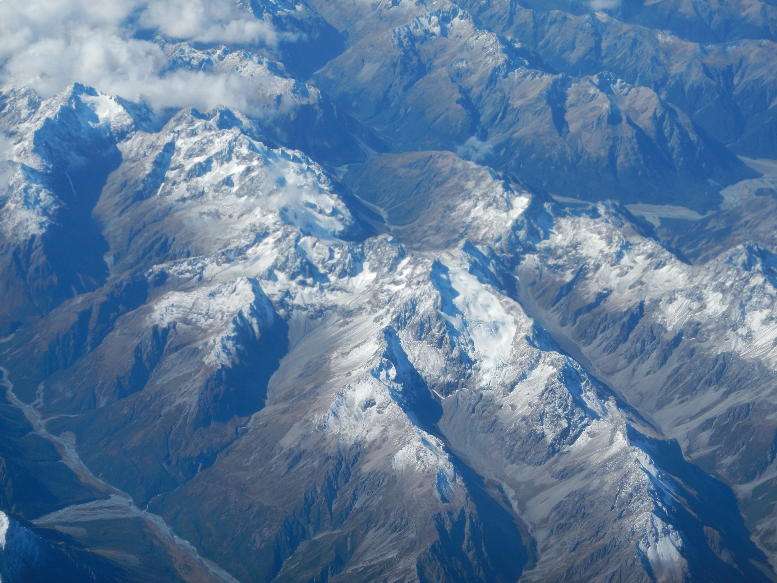 New Zealand from the air, 26 Mar 2012