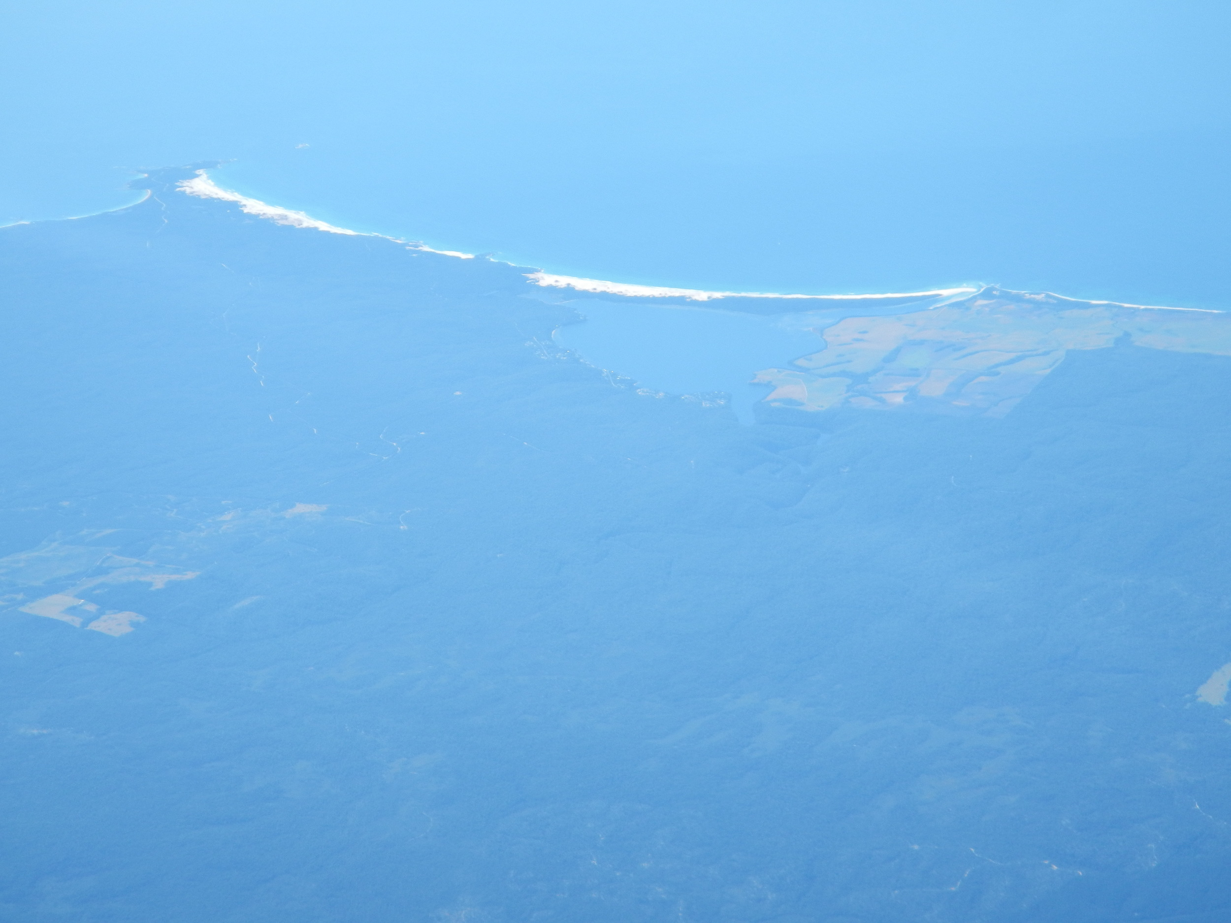Anson's Bay from the air, 25 Mar 2012