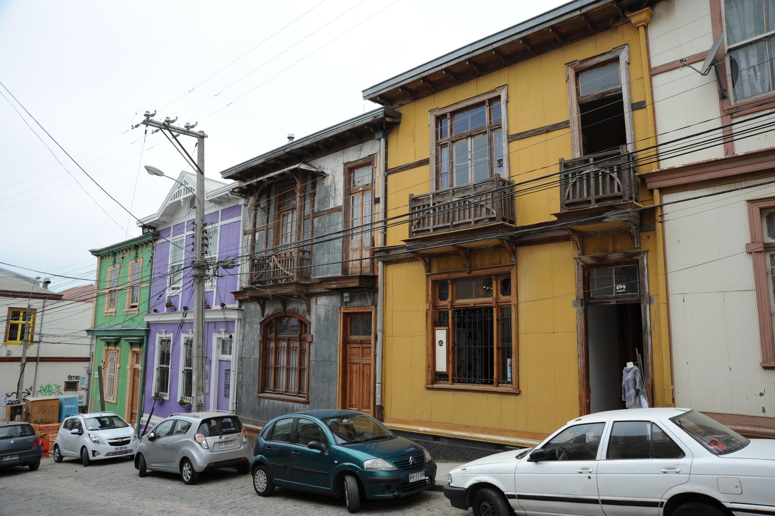 Houses, Valparaiso, Chile, 27 Mar 2012