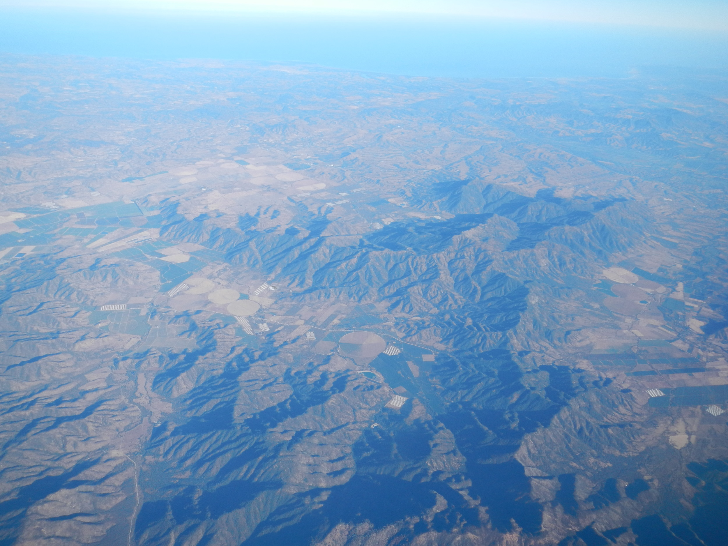 First view of Chile, 26 Mar 2012