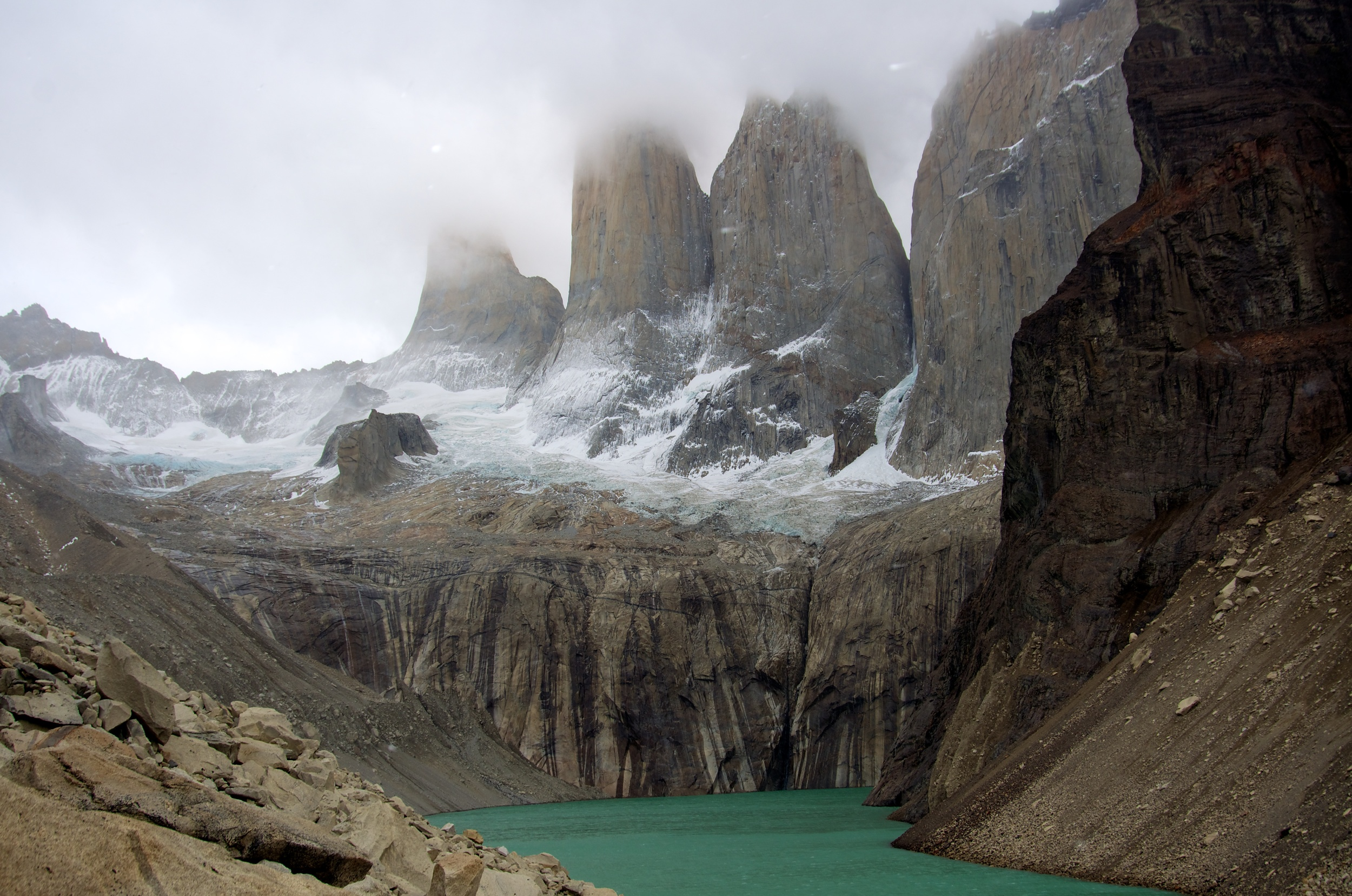 The Towers, Torres del Paine, Patagonia, Chile, 3 Apr 2012