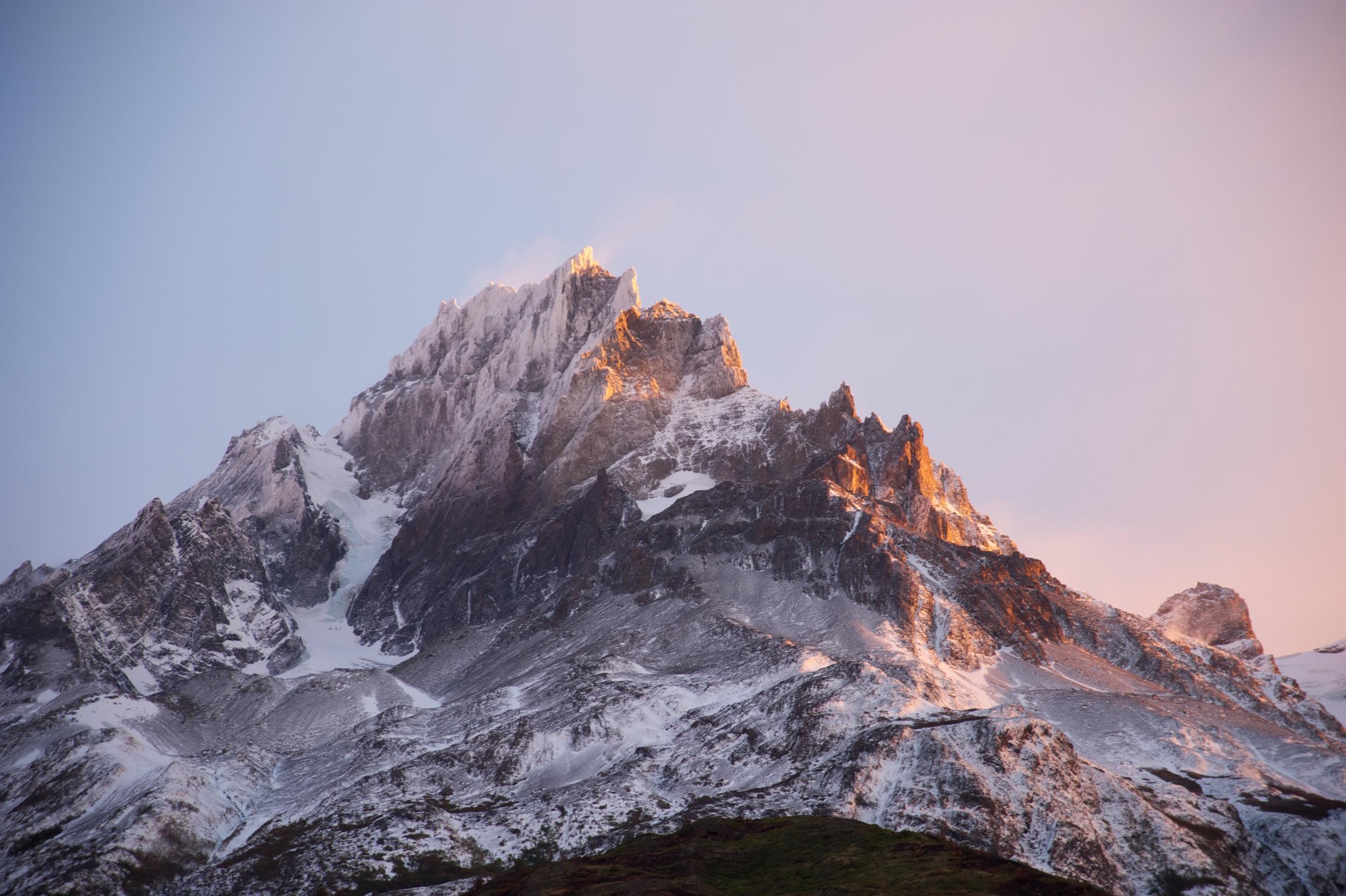 Sunrise #2 at Lago Pehoe, Torres del Paine, Patagonia, Chile, 6 Apr 2012