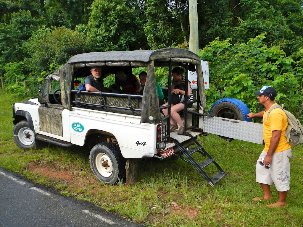 Jeep transport, Paraty, Costa Verde, Brazil, 13 Apr 2012