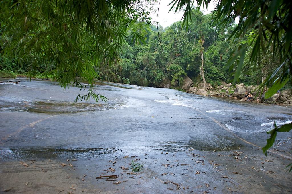 Water slide, Paraty, Costa Verde, Brazil, 13 Apr 2012