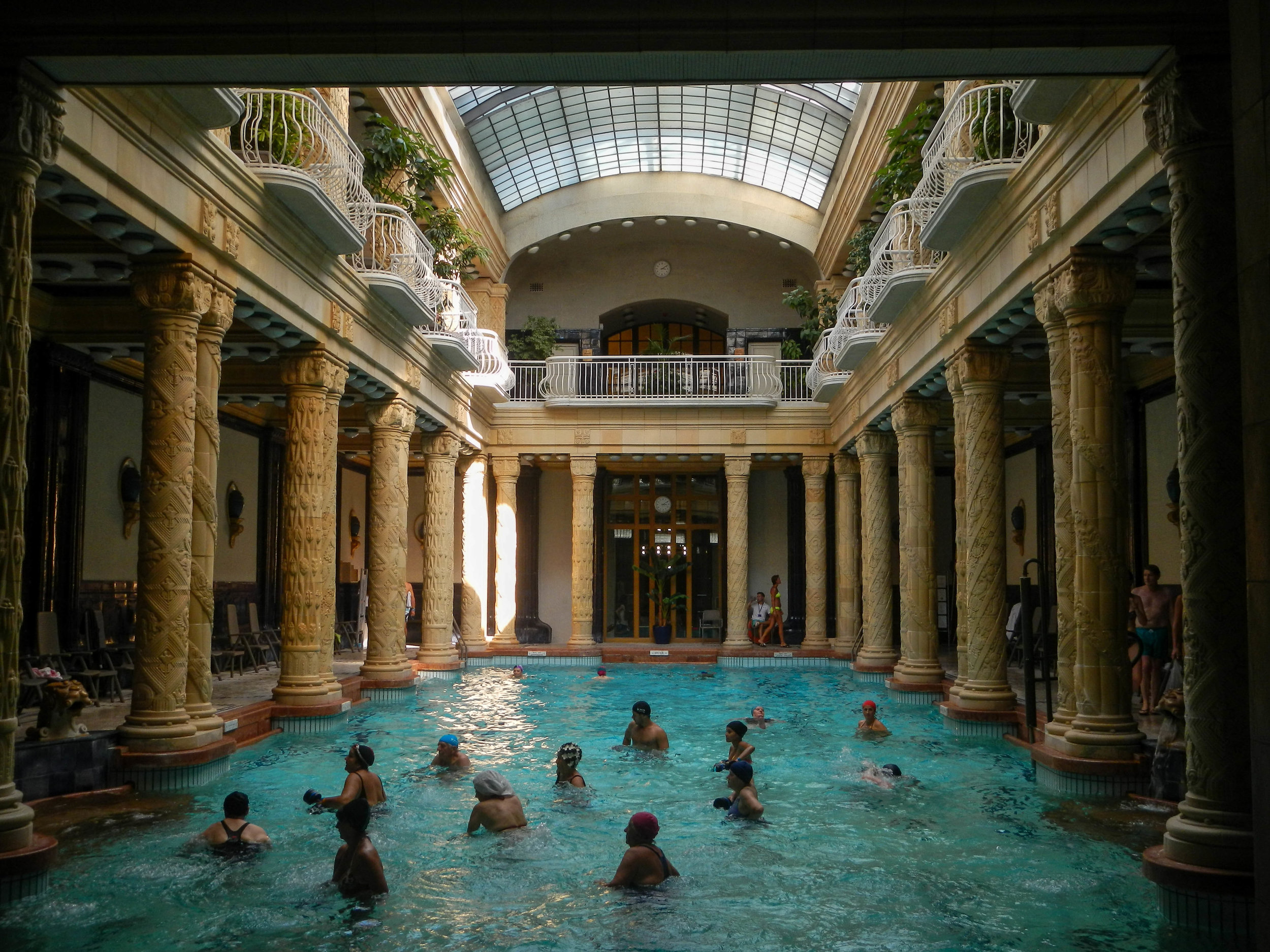 Thermal pools, Danubius Hotel Gellerrt, Budapest