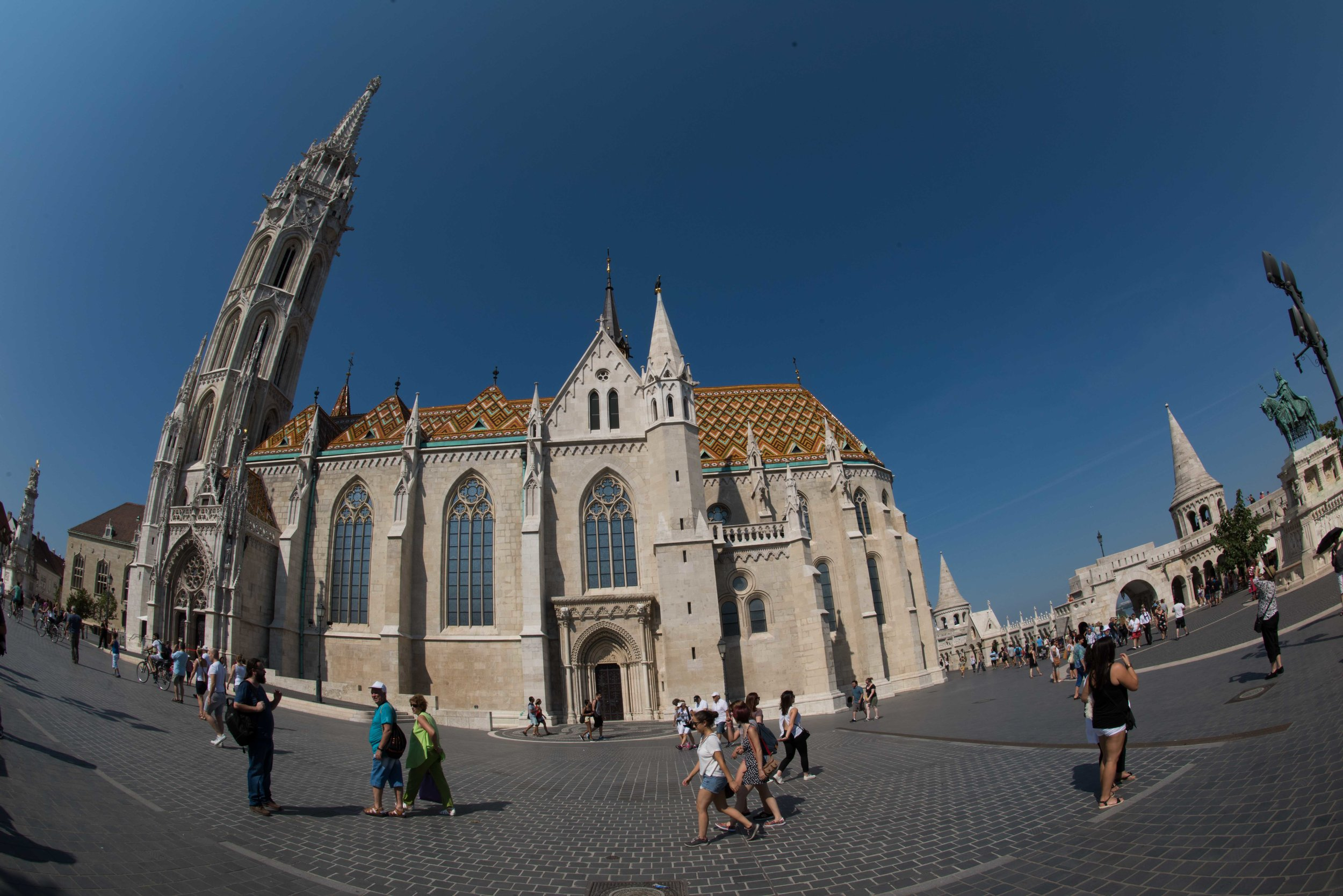 Matyas Church, Castle Hill, Budapest