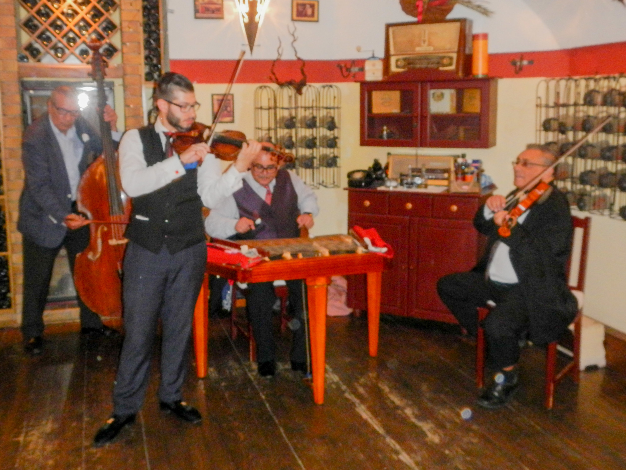 Band at restaurant, Budapest