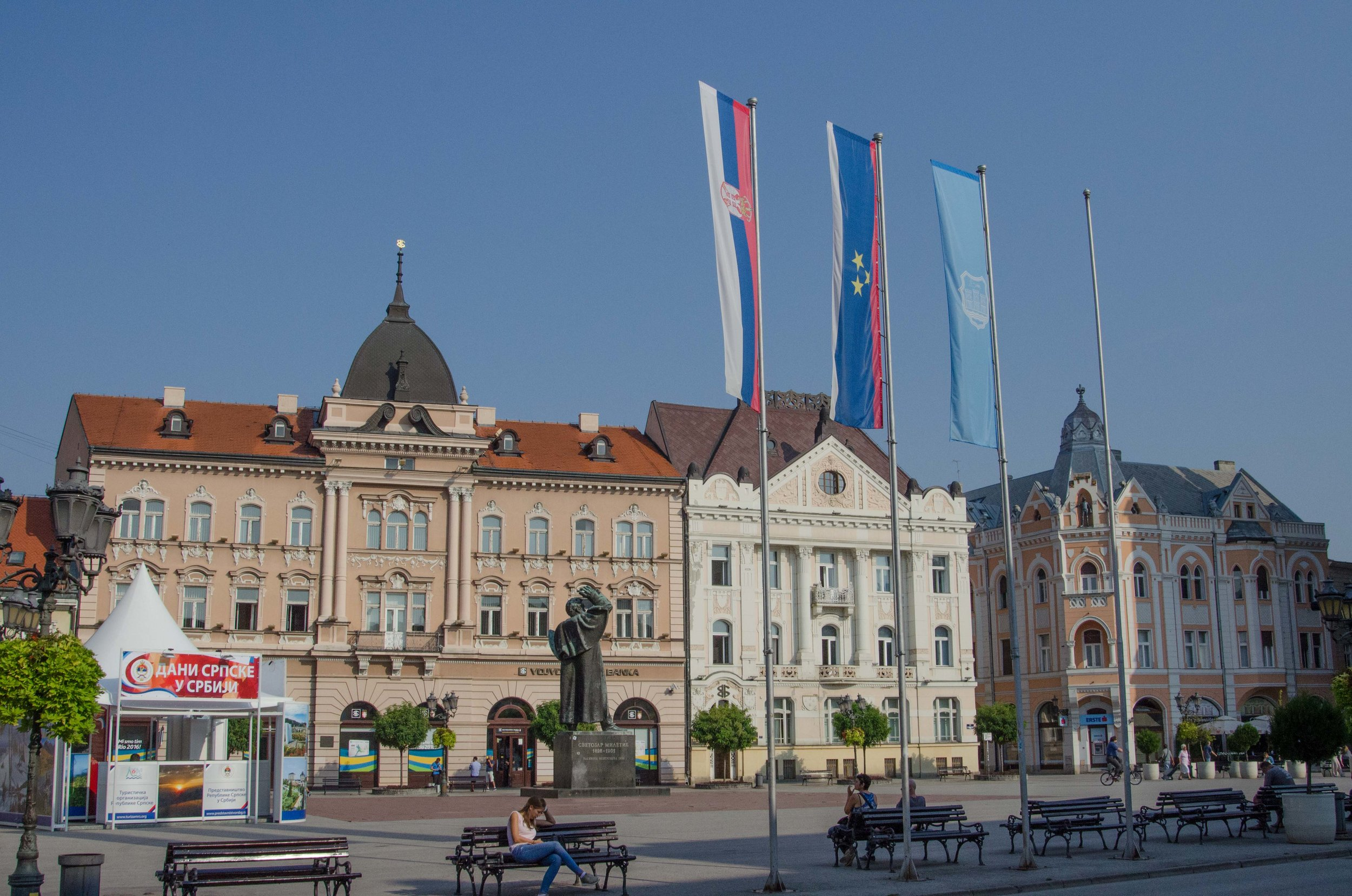 Old town square, Novi Sad