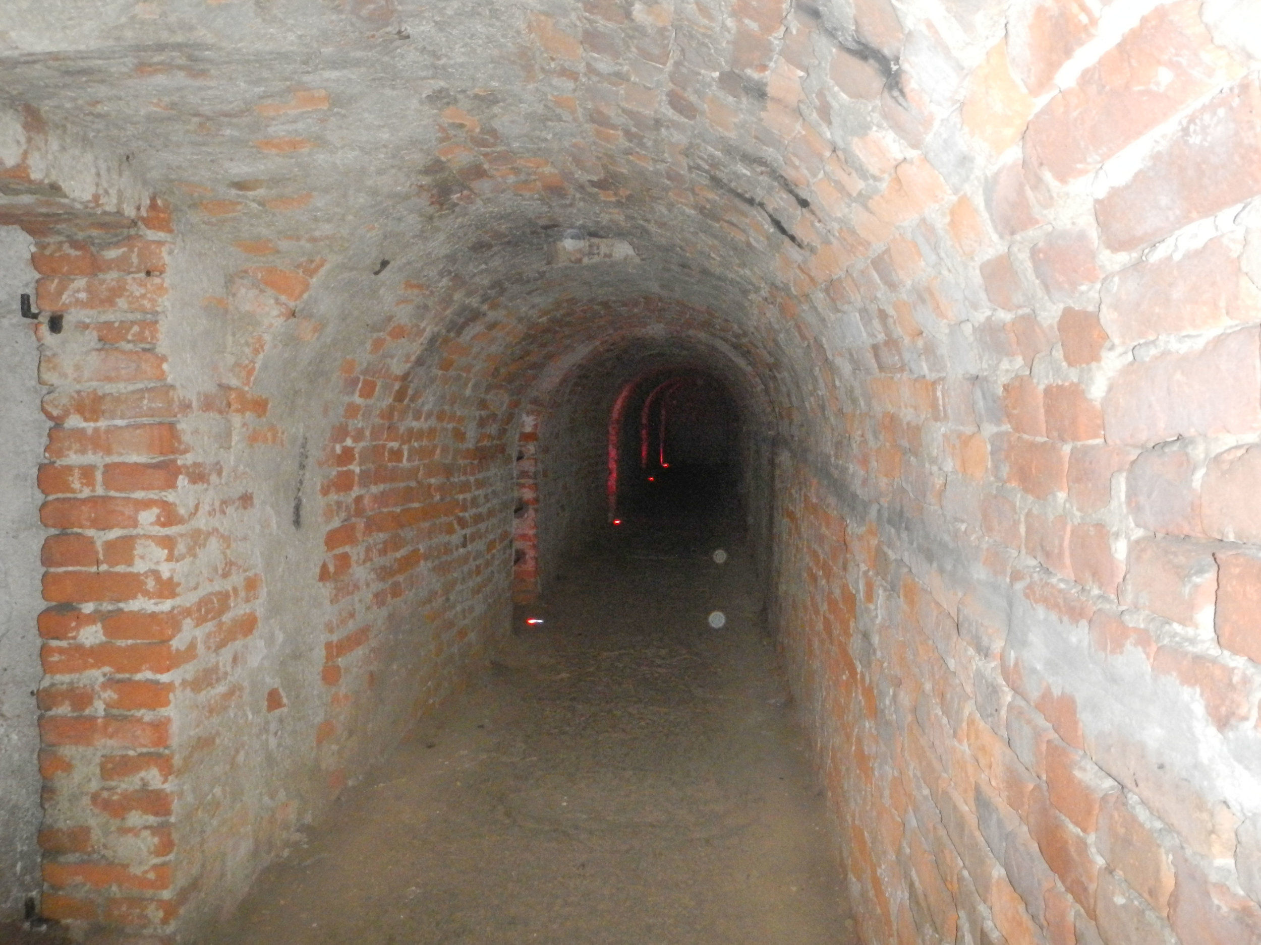 Section of tunnel, Petrovaradin Fortress, Novi Sad