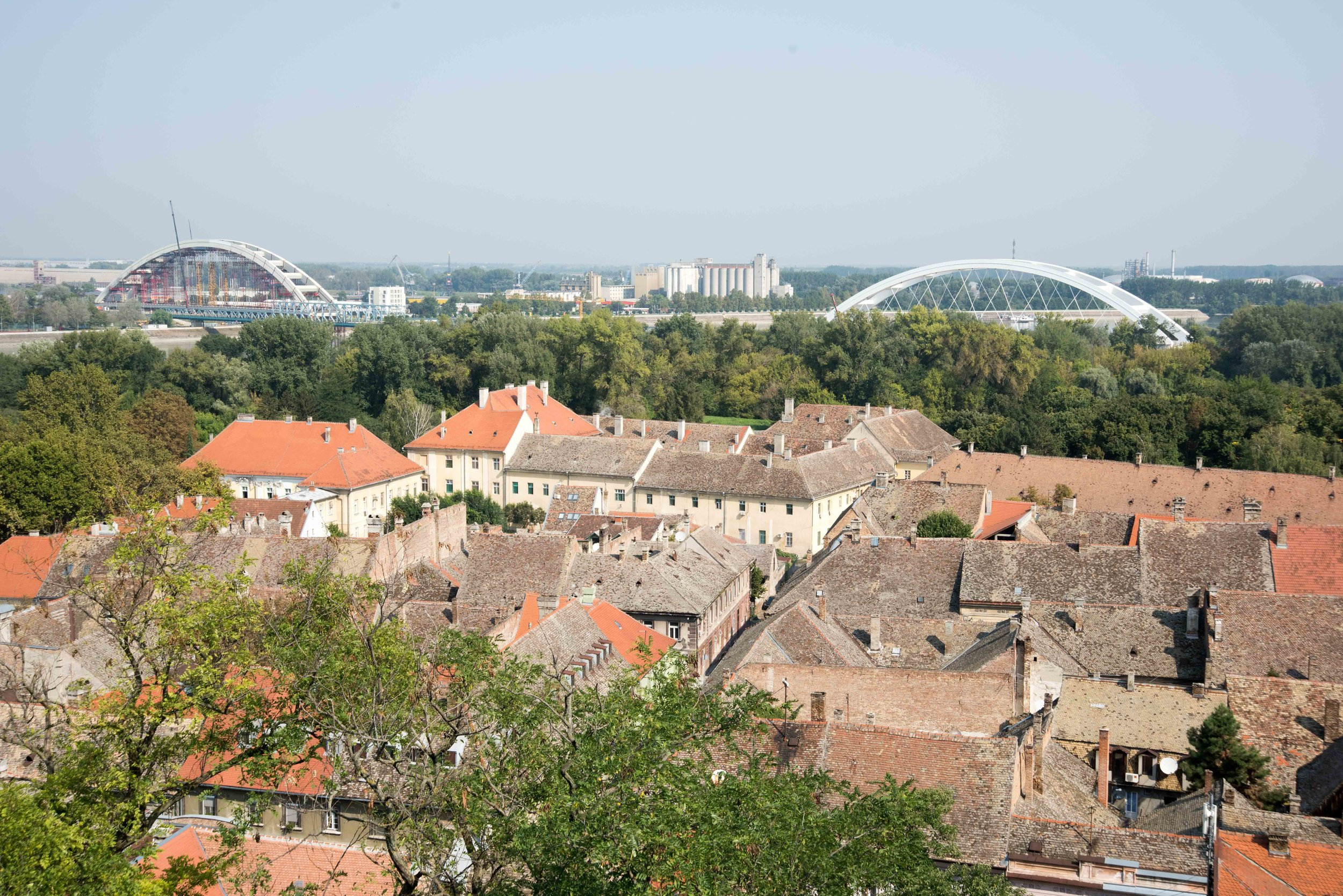 View from Petrovaradin Fortress, Novi Sad