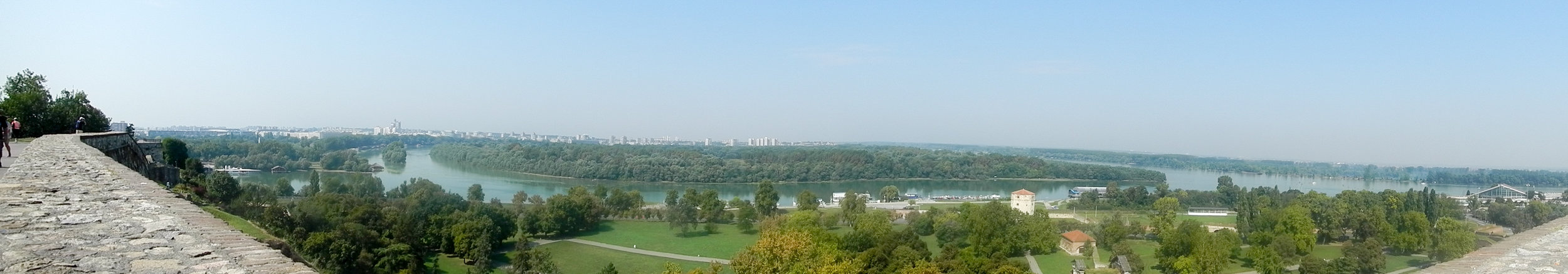 View from Kalemegdan Fortress, Belgrade