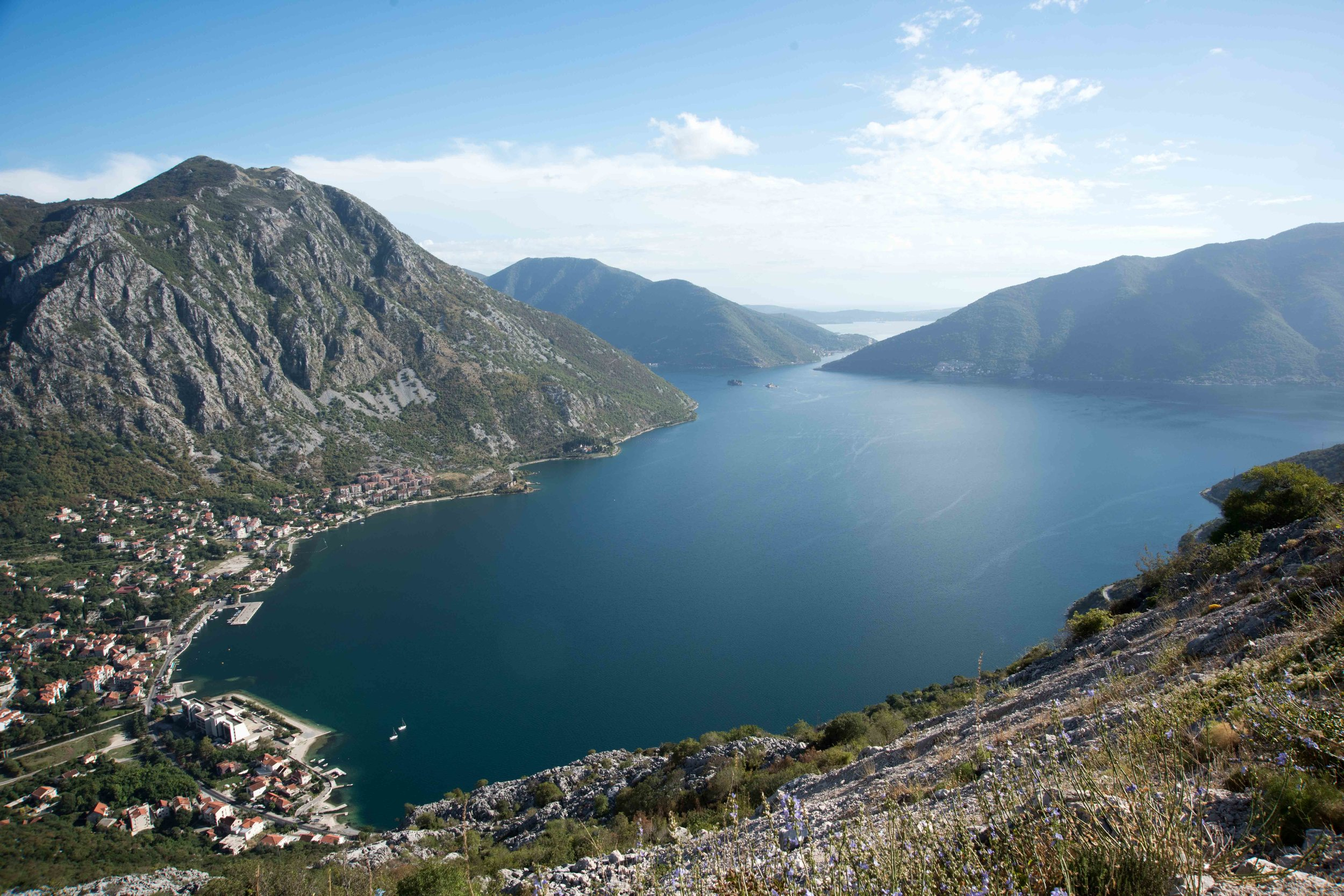 View over Kotor harbour, Montenegro