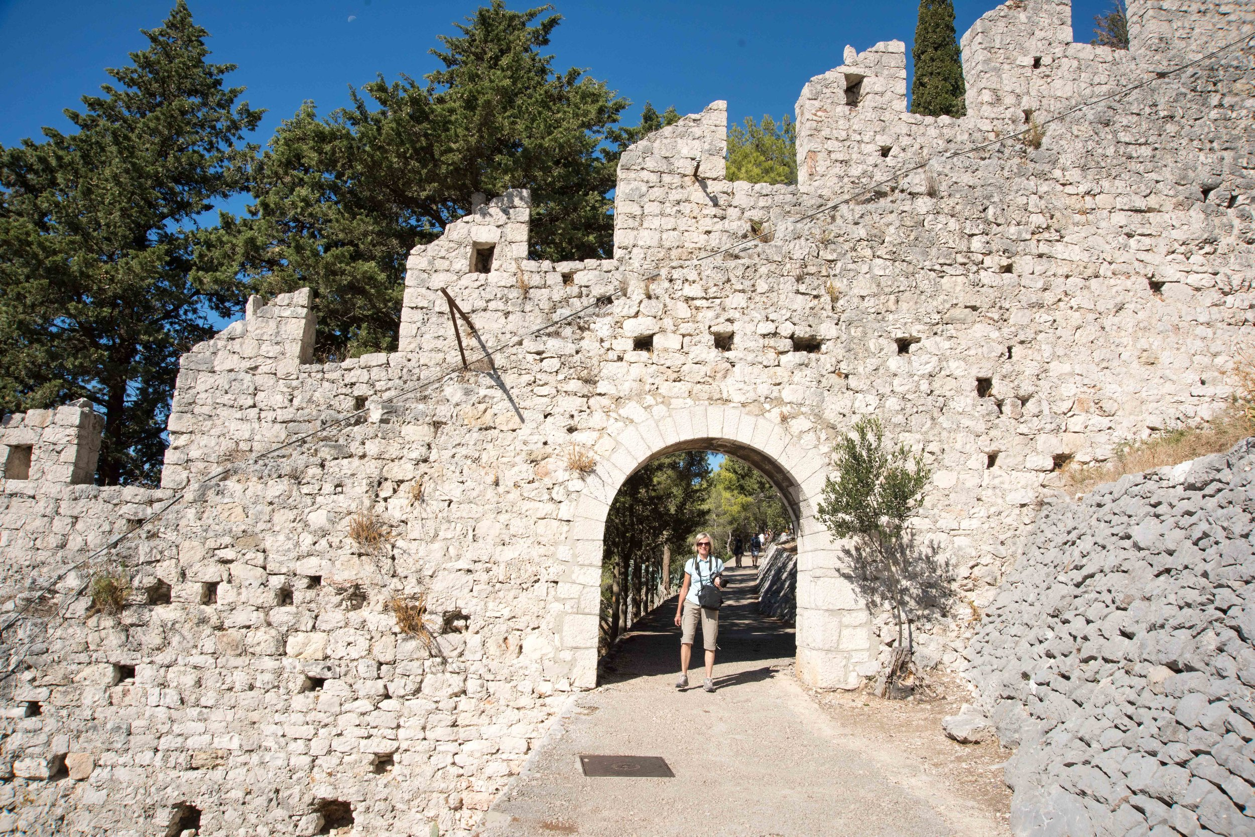 Hvar Fortress wall