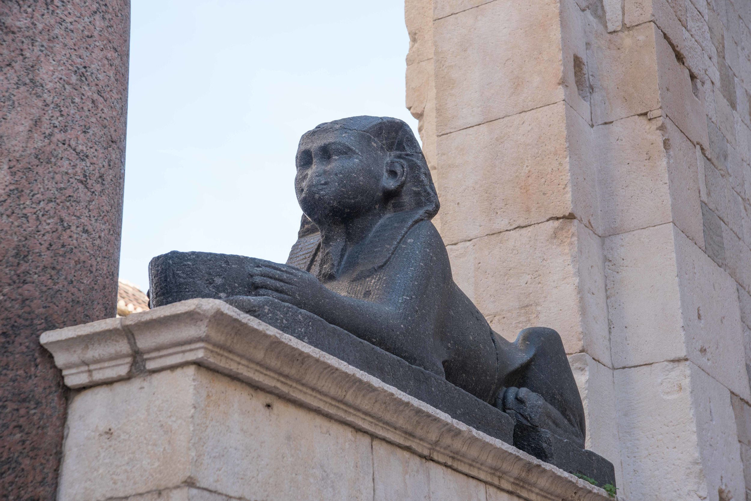 Sphinx, Old City, Split