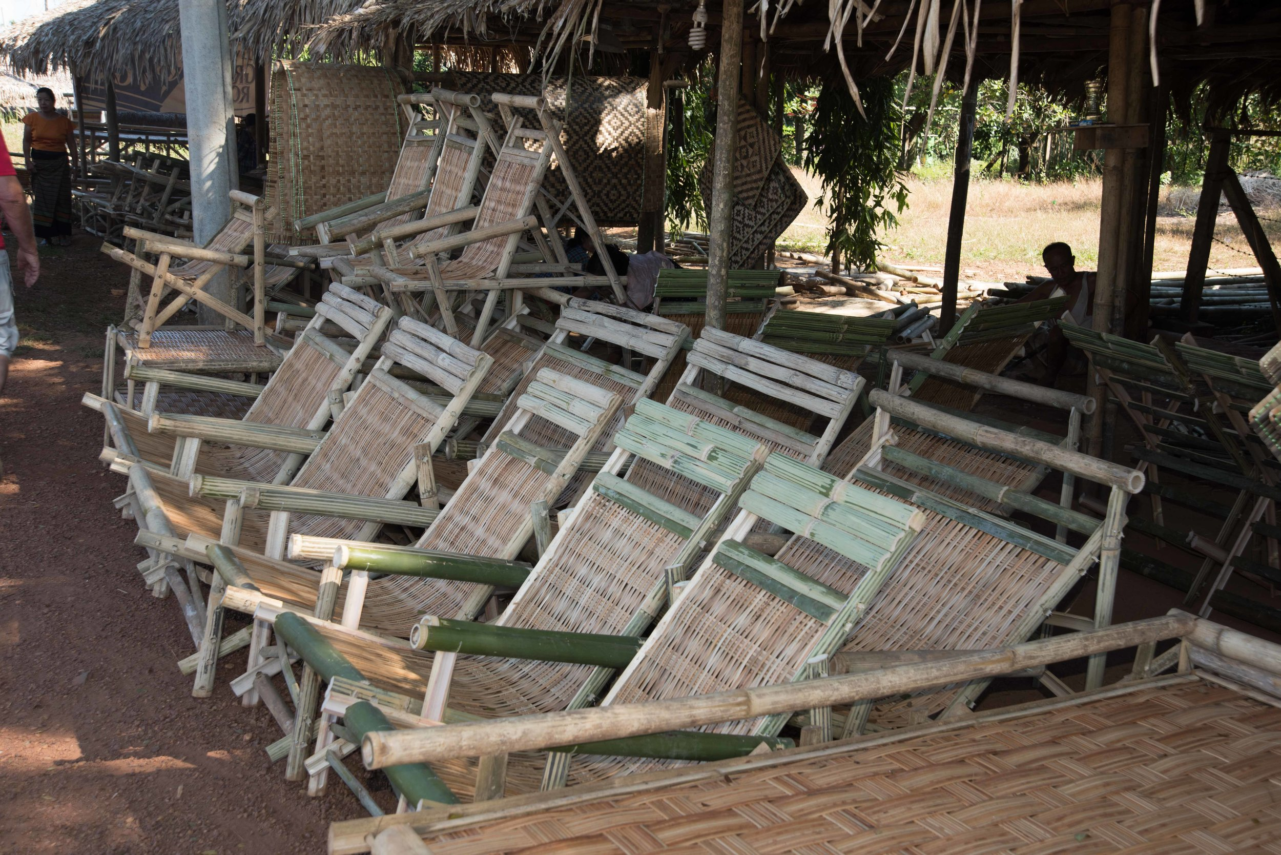 Chairs 001, Bamboo workshop, en route to Yangon, Myanmar, 25 Nov 2017.jpg