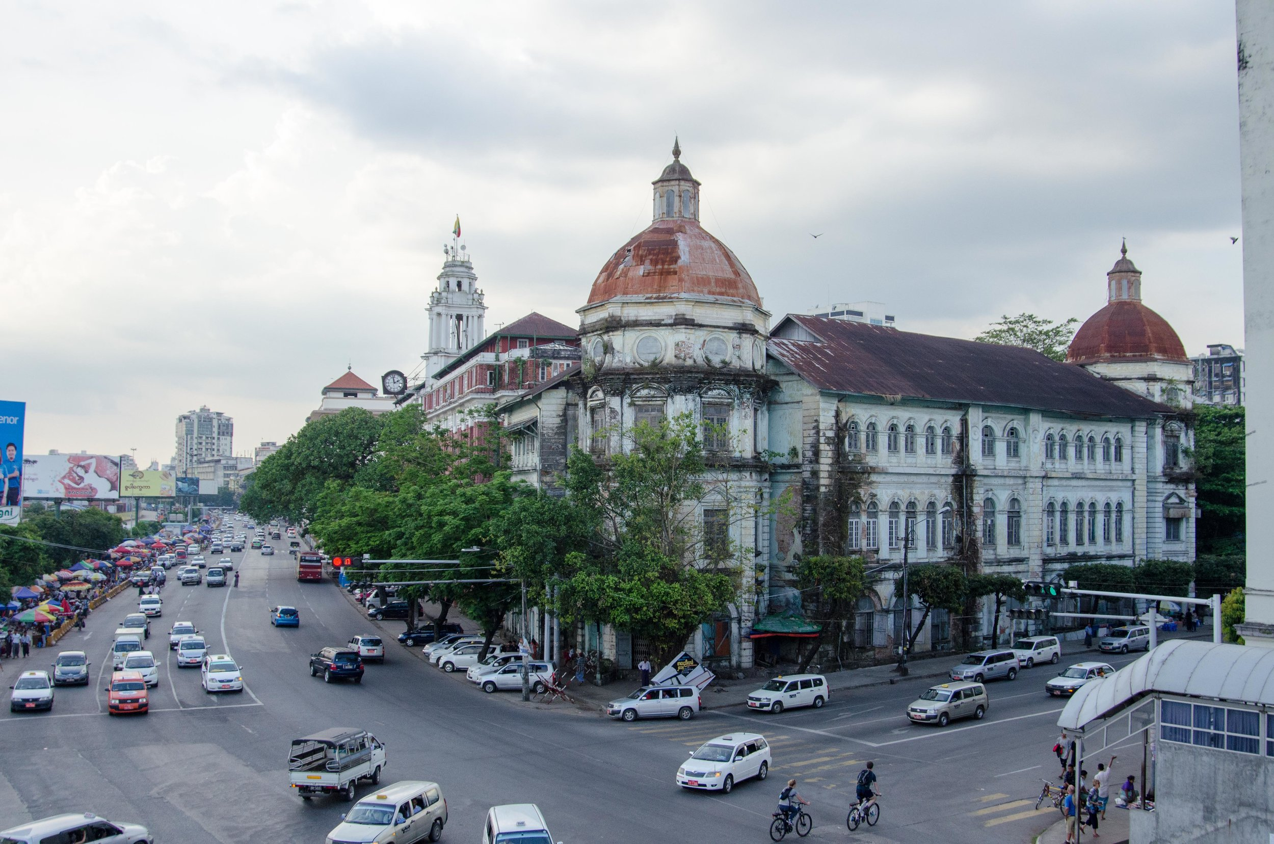 Building 011, Colonial area, Yangon, Myanmar, 26 Nov 2017.jpg