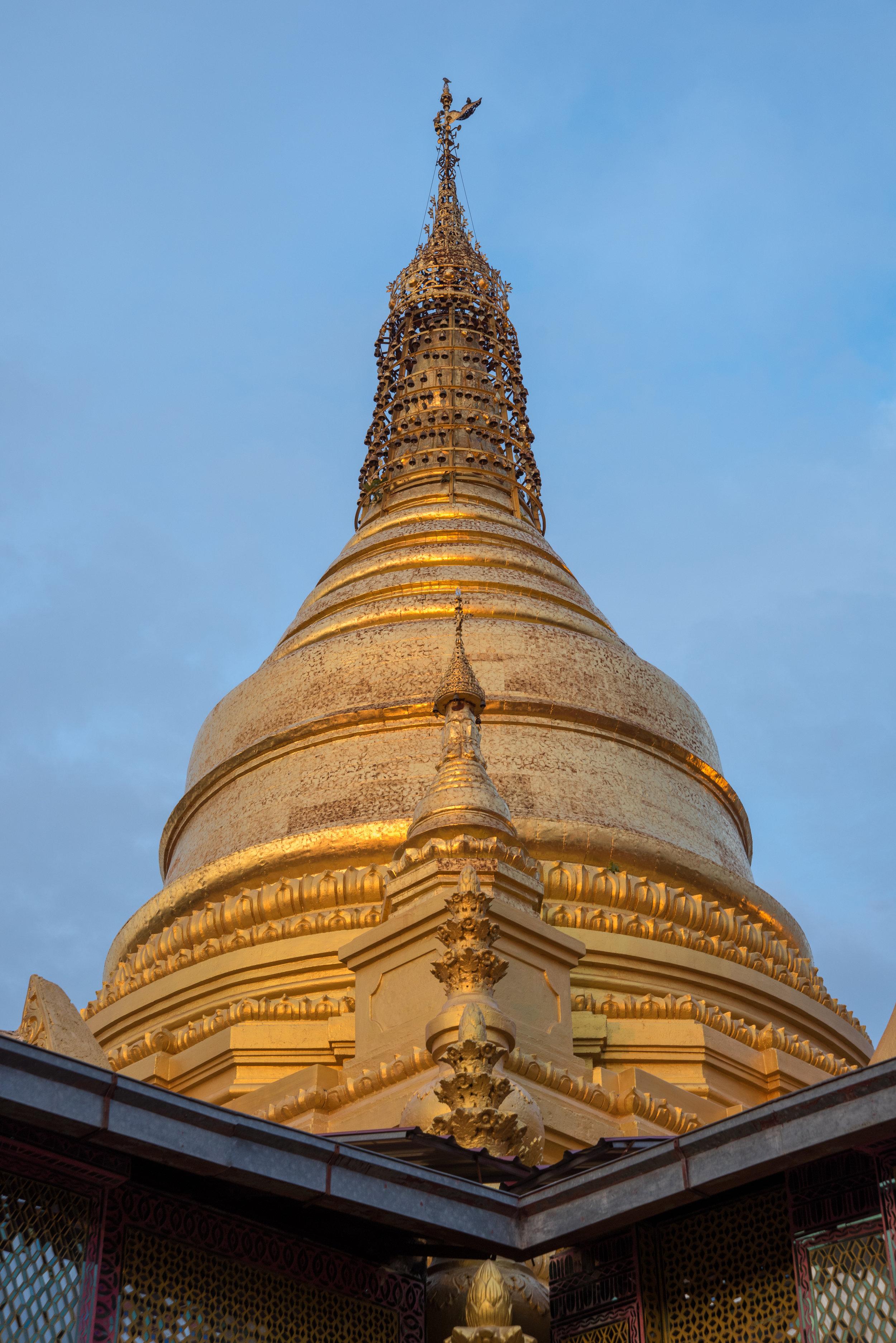 Kuthodaw Pagoda, Mandalay Hill, Mandalay, Myanmar