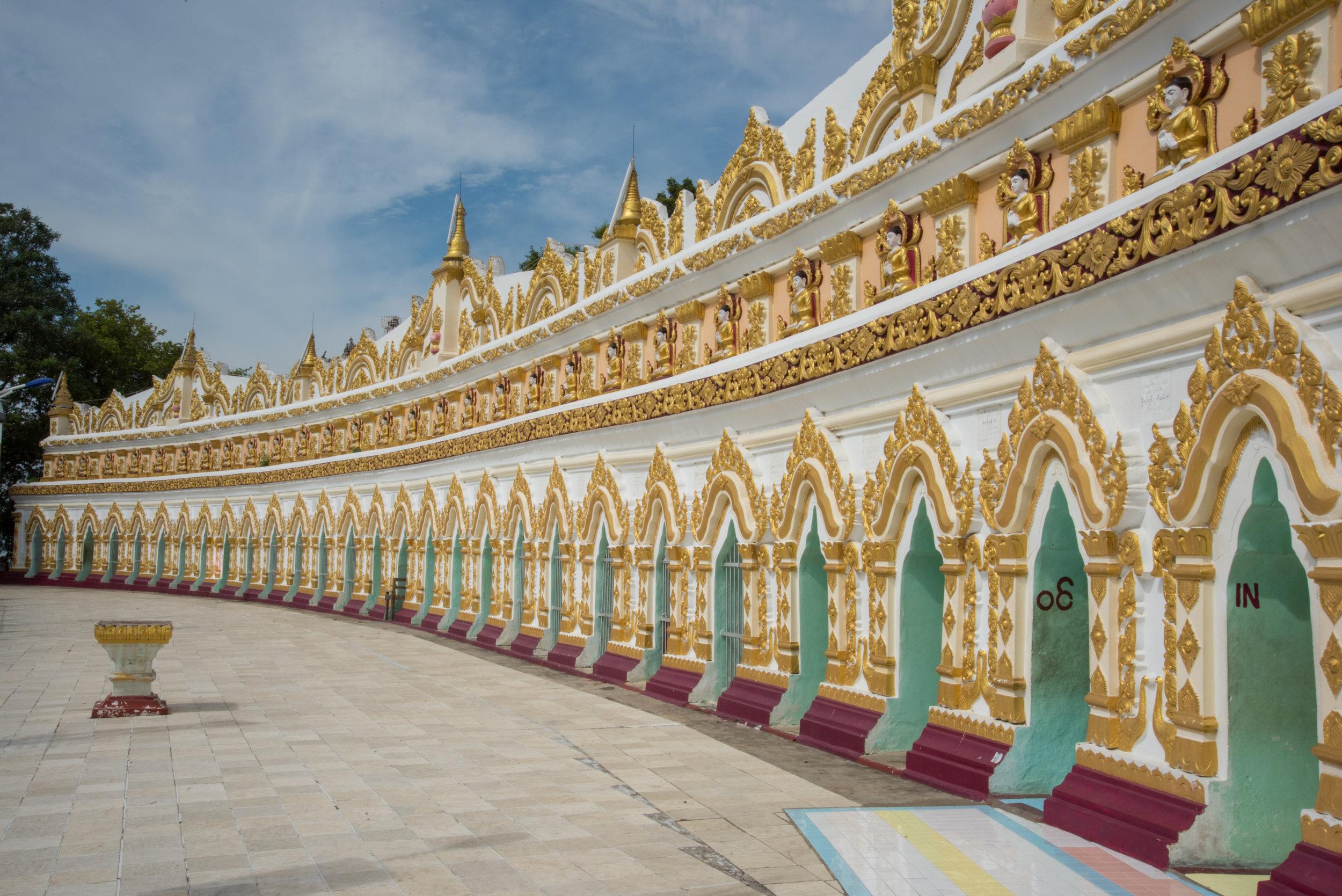 Umin Thounzeh monastery, Mandalay, Myanmar